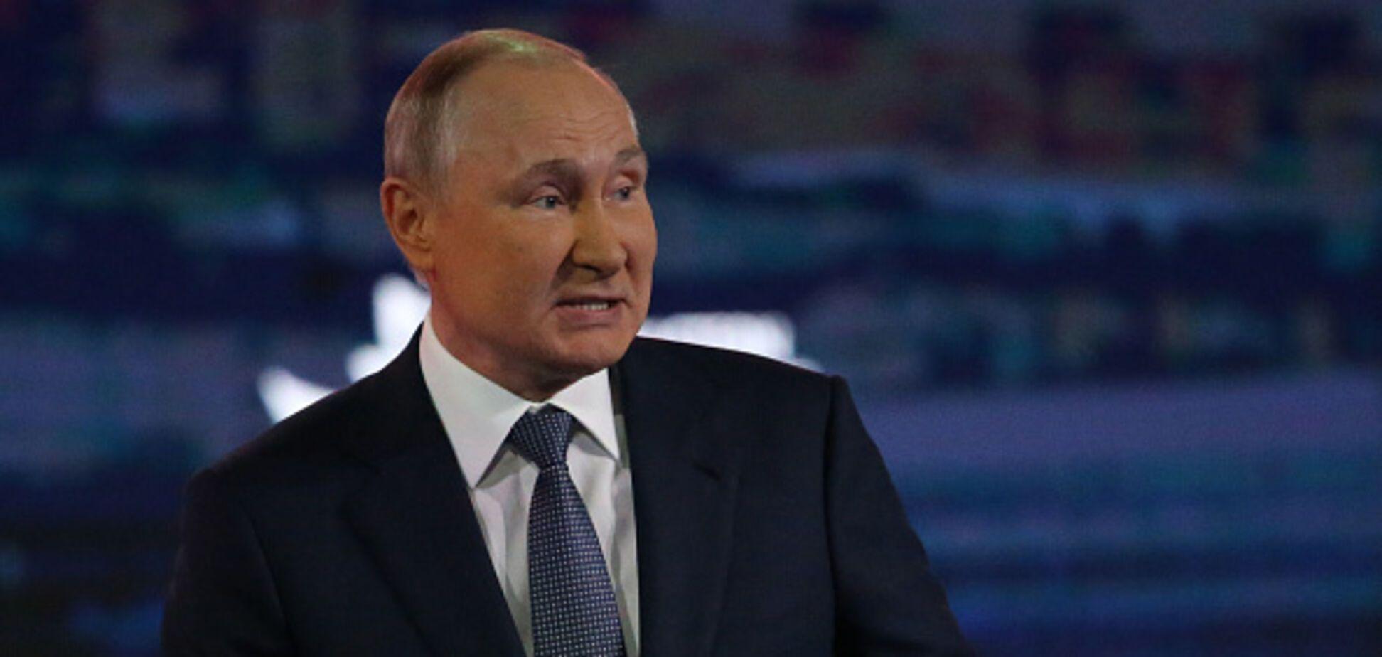 Путин превращается в посмешище