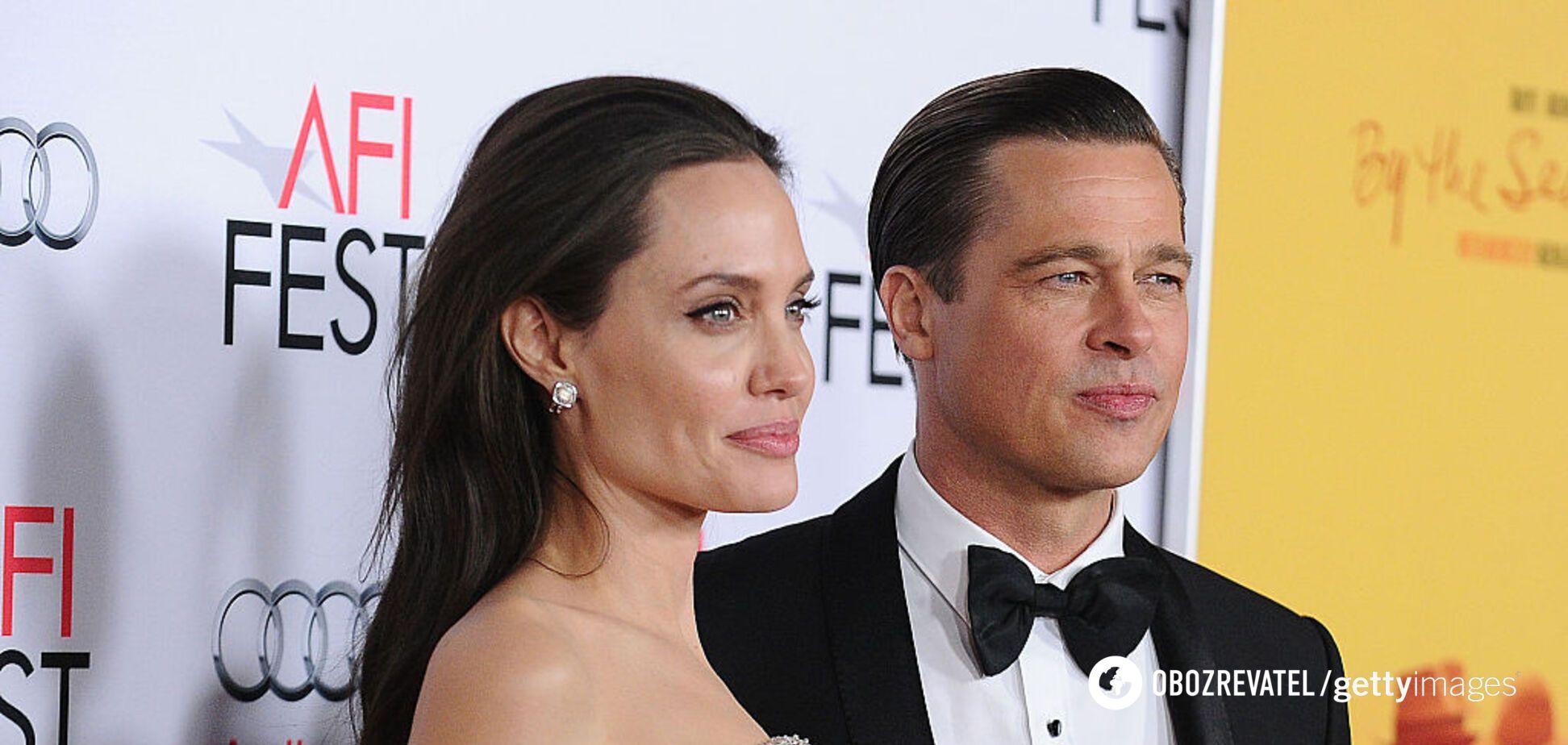 Анджеліна Джолі підтвердила факт домашнього насильства з боку Пітта