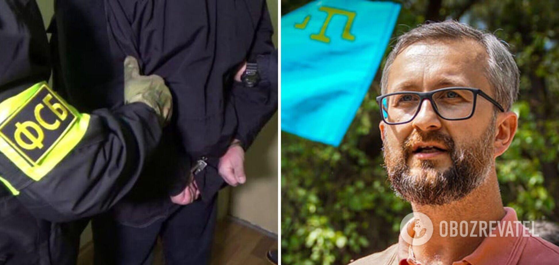 В МИД рассказали о пытках ФСБ задержанного Джеляла: держали с мешком на голове
