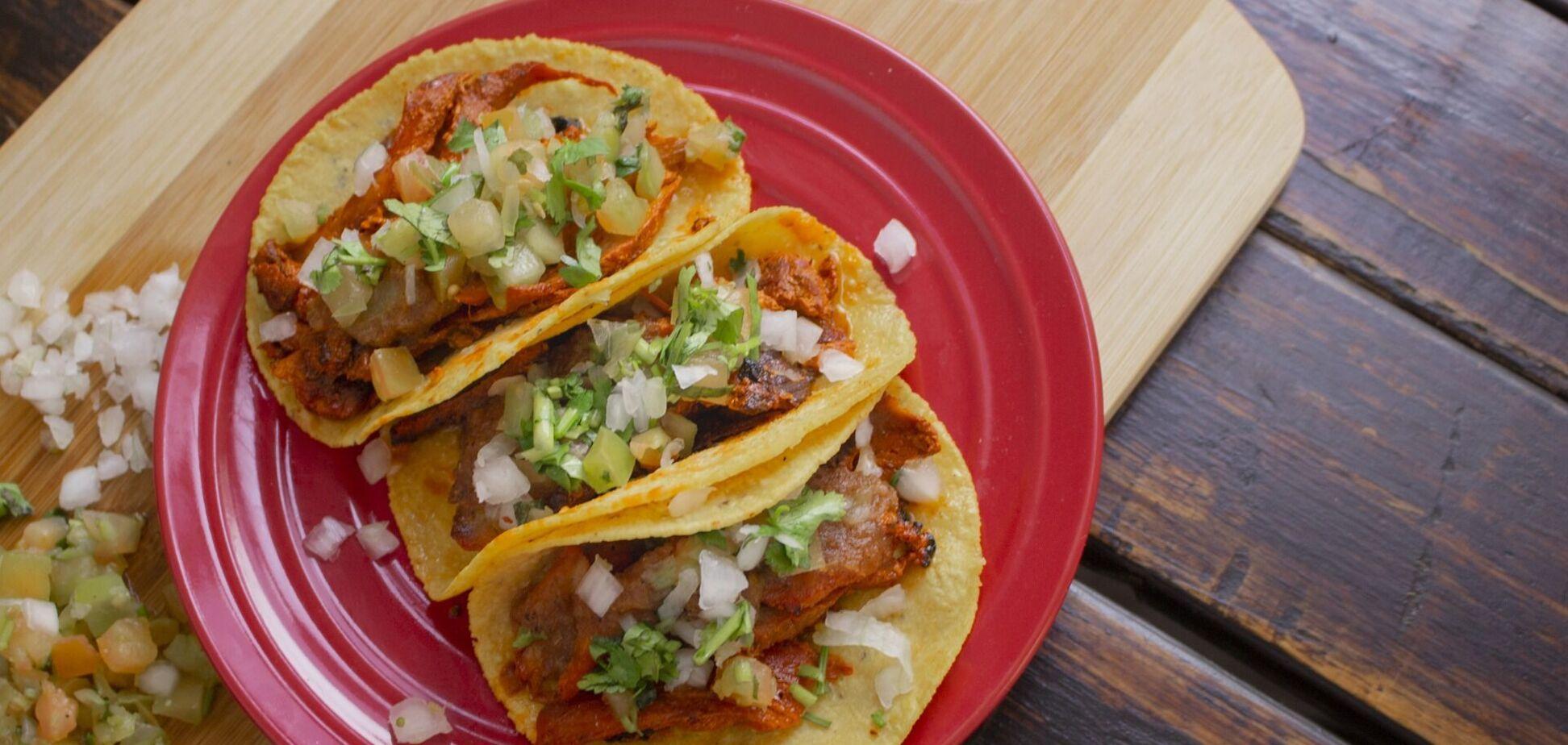 Мексиканська страва тако