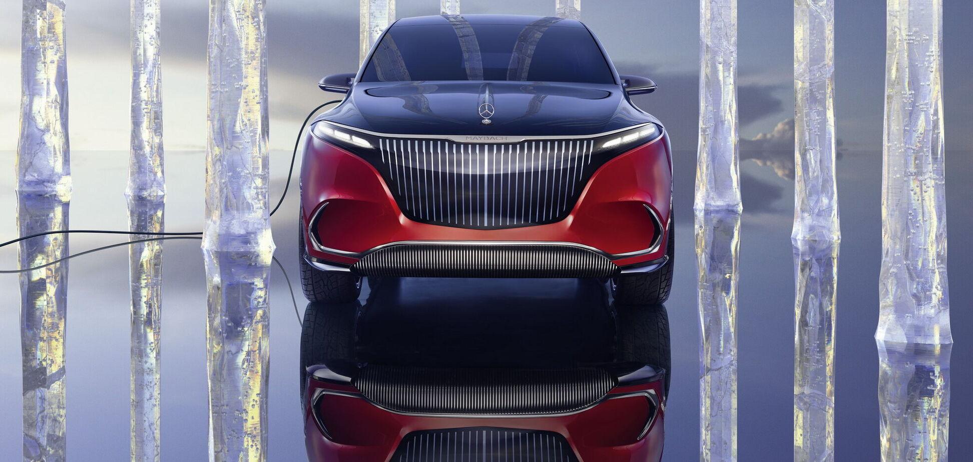 У Mercedes-Maybach появился электромобиль