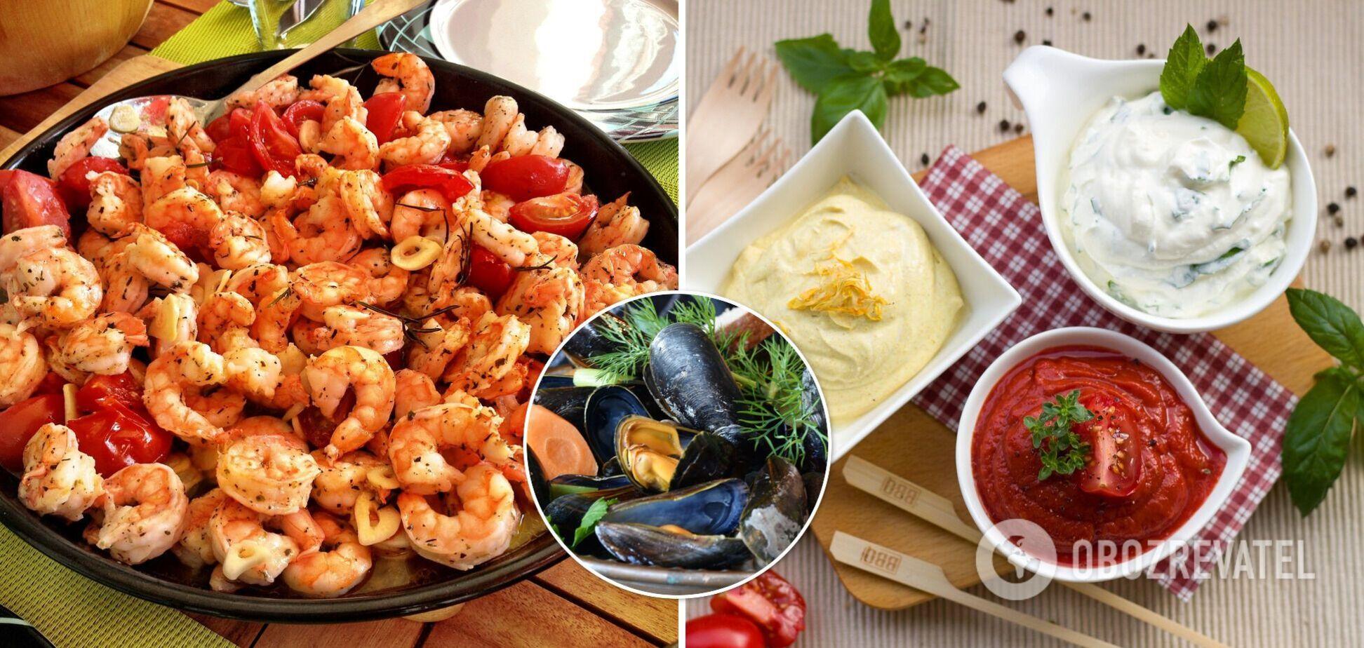 Кращі соуси до морепродуктів
