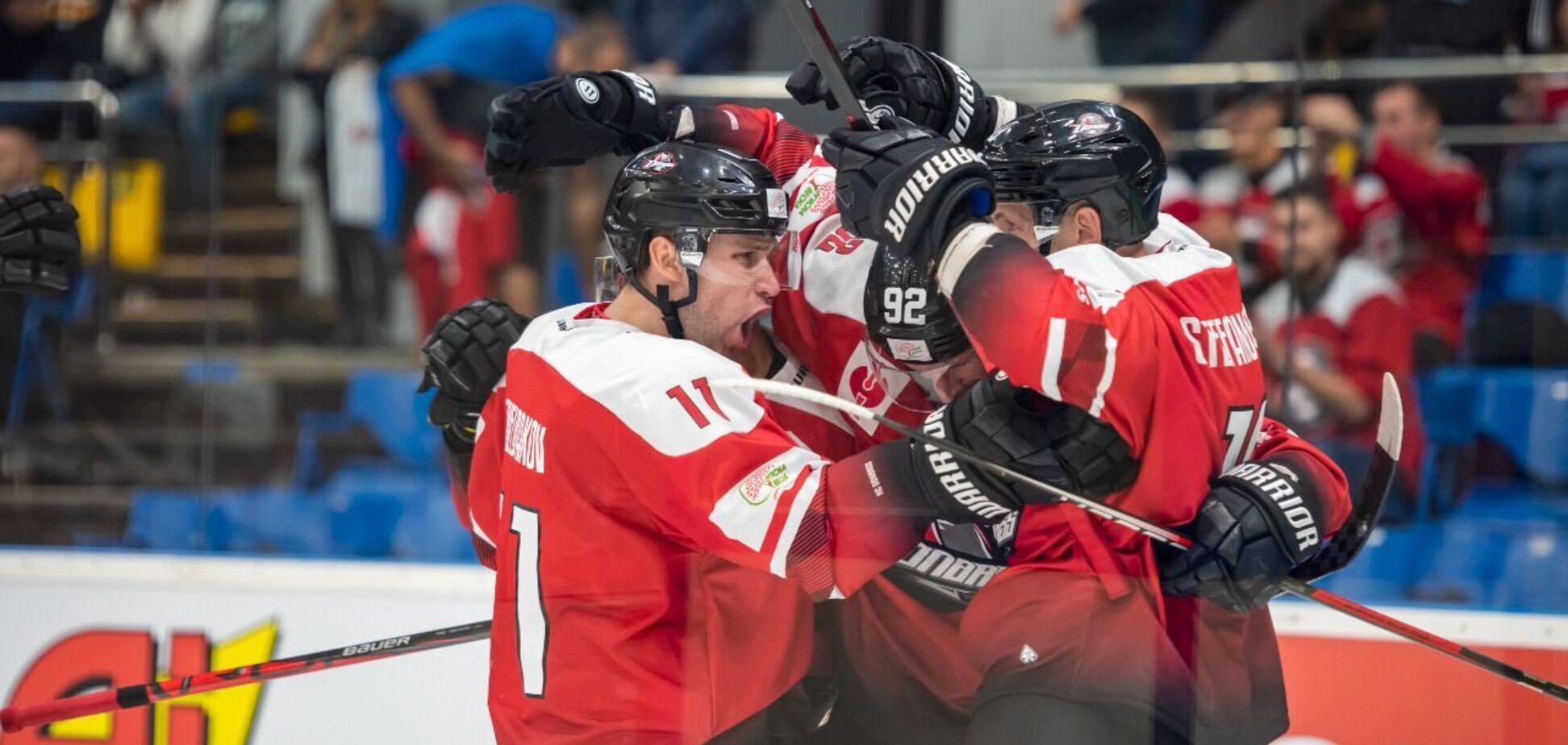 ХК 'Донбасс' провел стартовые матчи в Лиге чемпионов