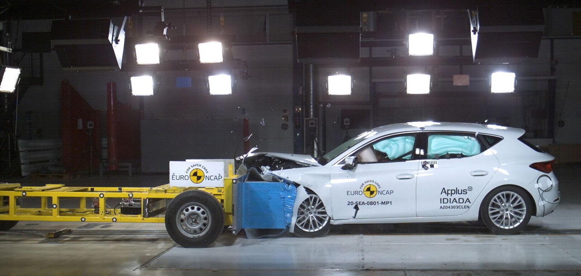 Euro NCAP подвергла краш-тестам 5 новых авто