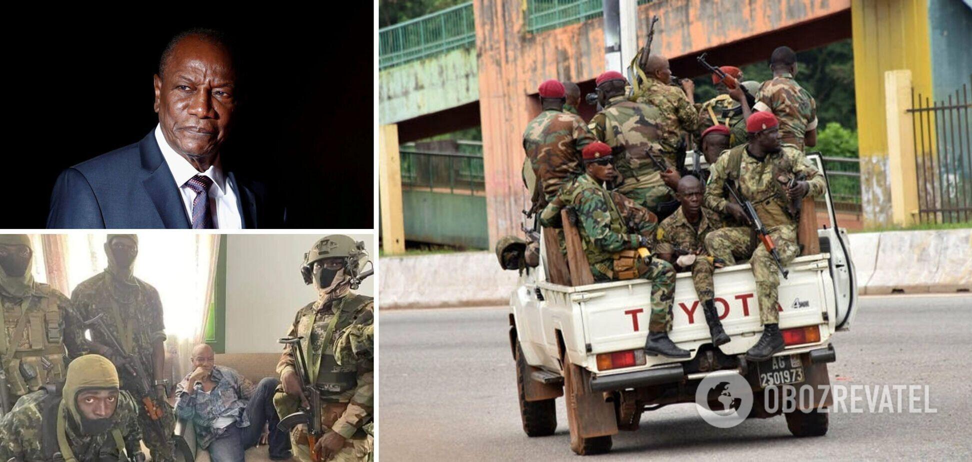У Гвінеї відбулася спроба перевороту: заколотники заявили про арешт президента. Всі подробиці, фото і відео