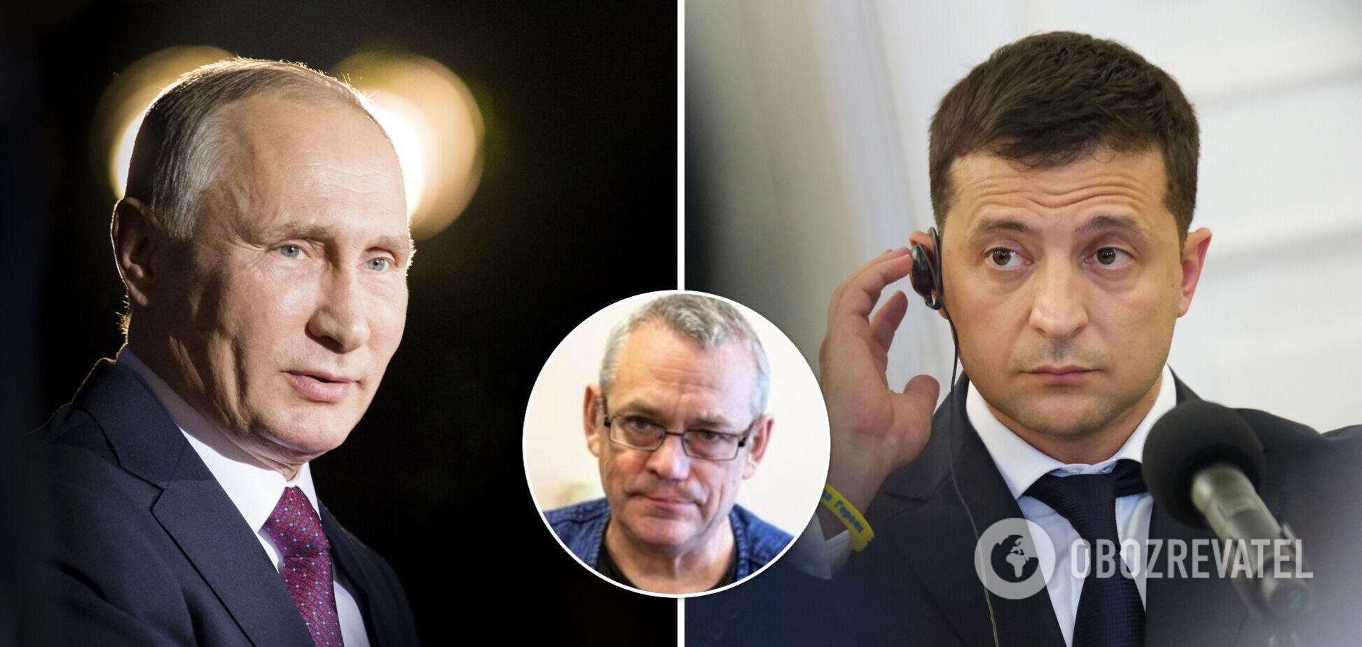 Яковенко уверен, что Зеленскому нет смысла говорить с Путиным о мире в Украине