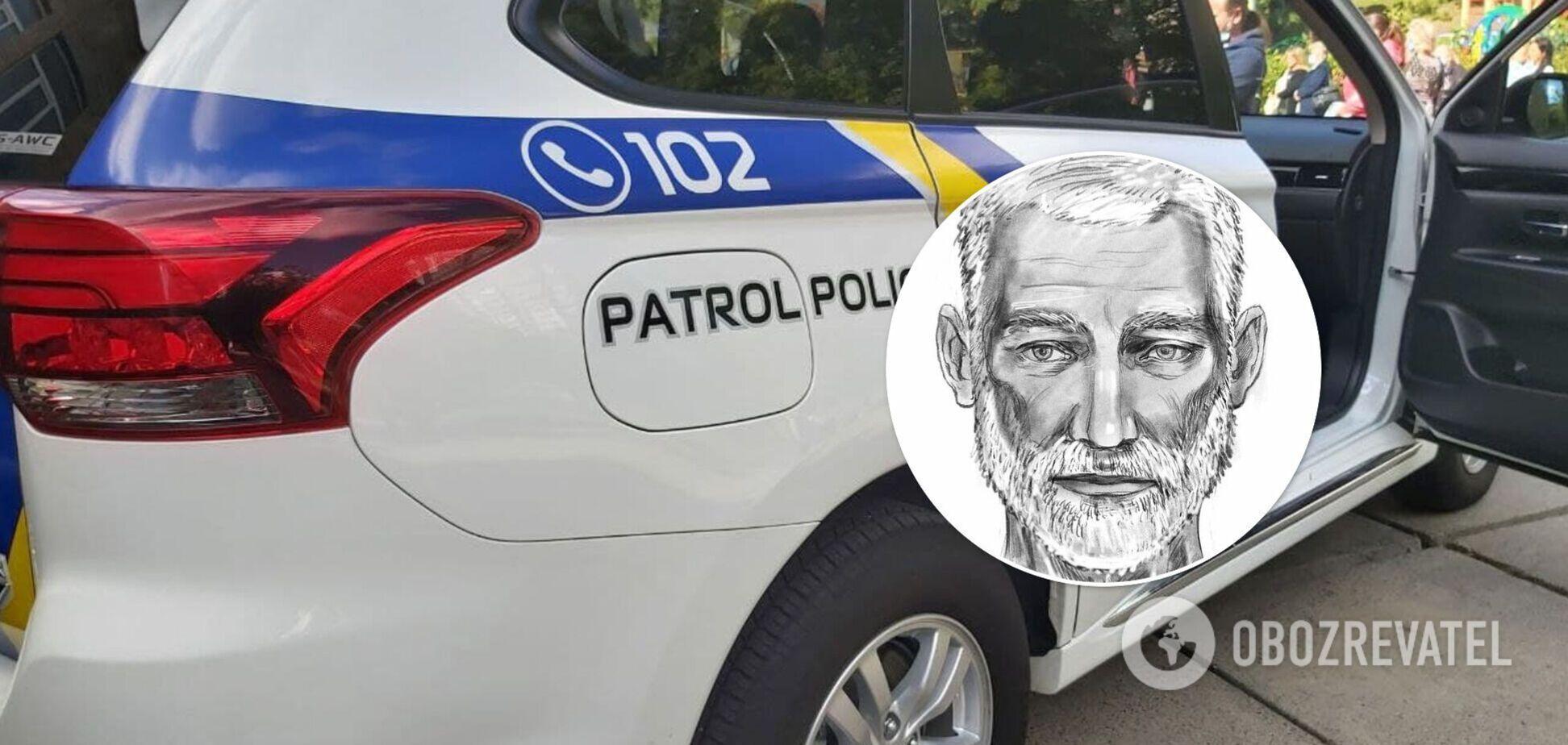 Полиция составила фоторобот одного из злоумышленников