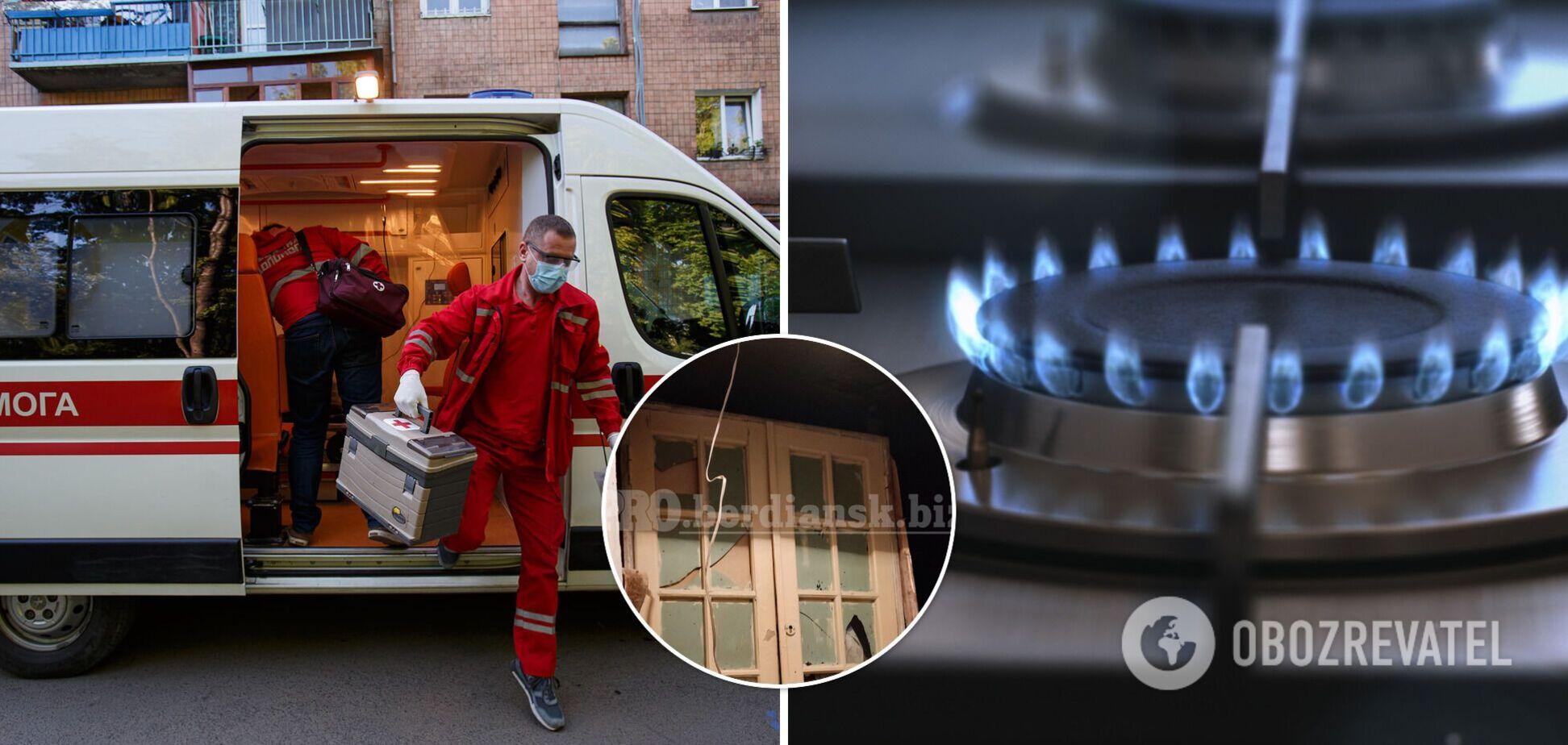 В Бердянске женщина пыталась покончить с собой и убить ребенка: в квартире прогремел взрыв. Фото