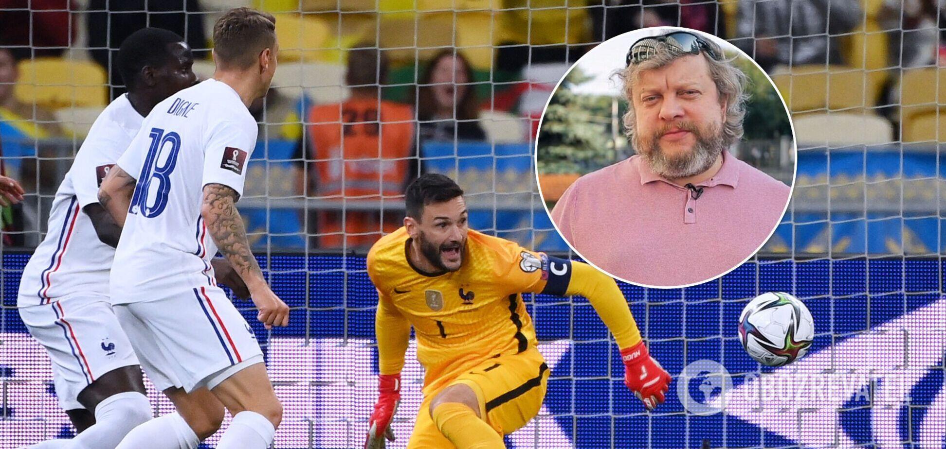 В России объяснили, почему Франция не смогла обыграть Украину в отборе ЧМ-2022