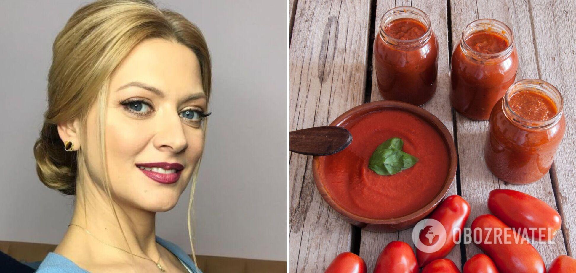 Рецепт кетчупа от Татьяны Литвиновой