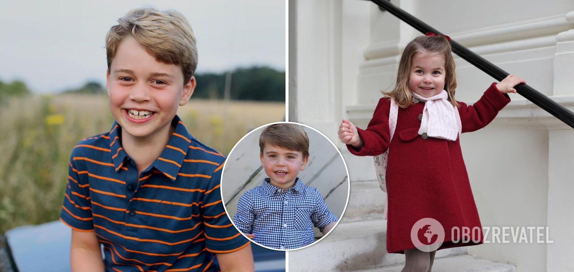 Любимые блюда детей королевской семьи