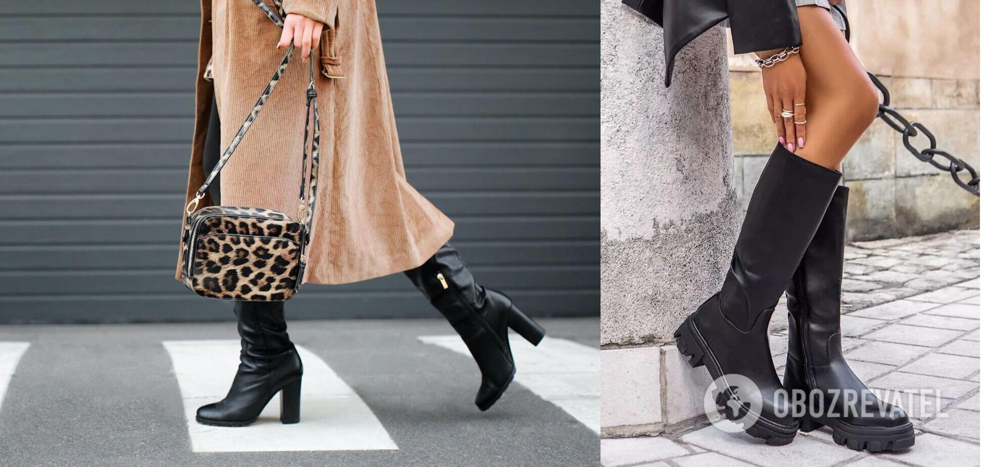 Жокейские сапоги, ботфорты и ботинки-'подушки': стилист назвала главные обувные тренды 2020-2021