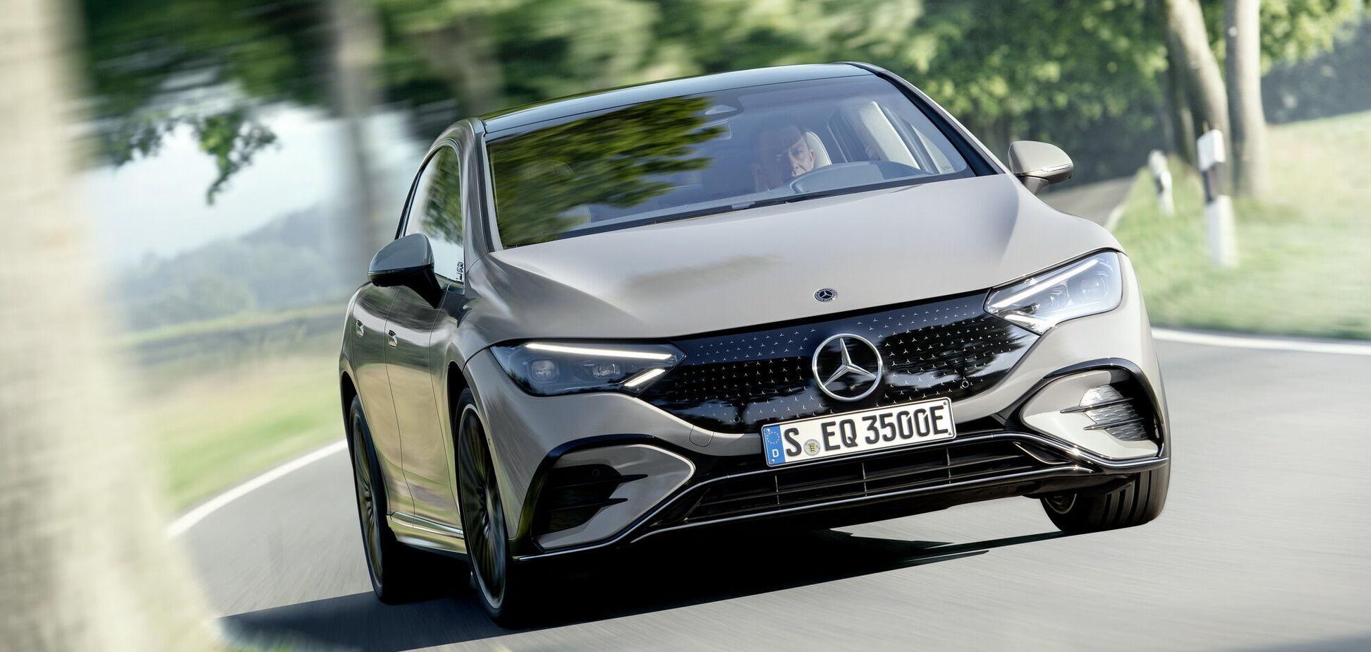 Mercedes-Benz представив електричний седан EQE