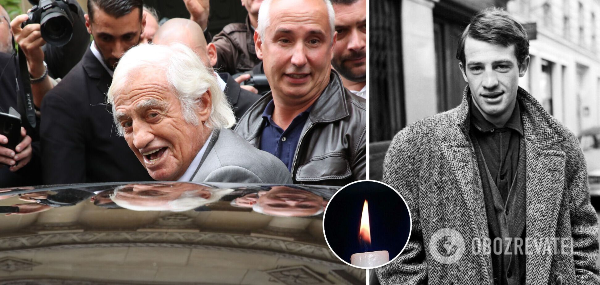 Помер легендарний французький актор Жан-Поль Бельмондо