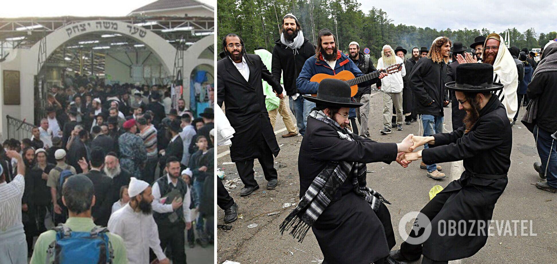 В Умань на празднование Рош ха-Шана приехали 29 тысяч хасидов. Эксклюзивные фото и видео