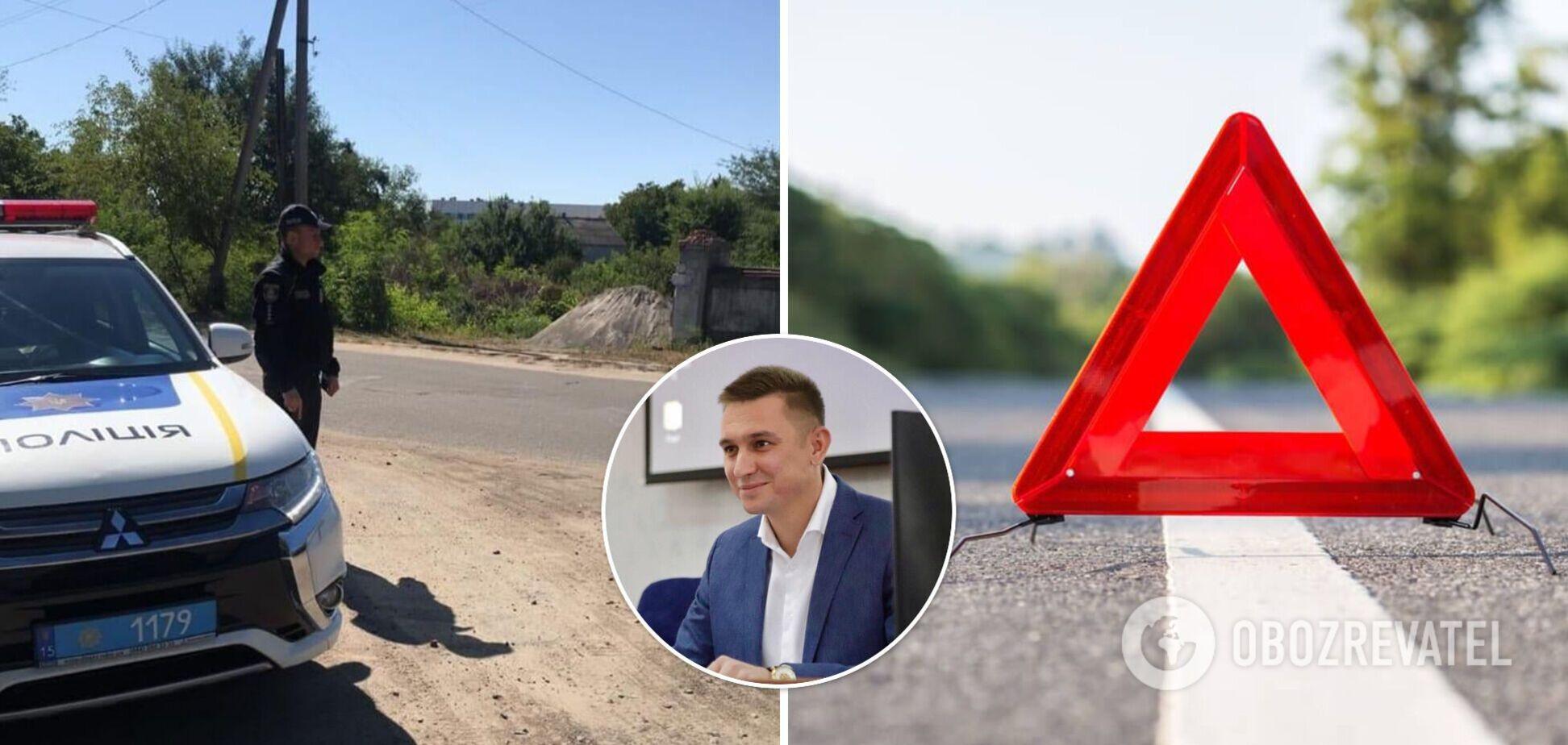 На Николаевщине произошло ДТП с участием мэра Вознесенска. Фото и первые подробности