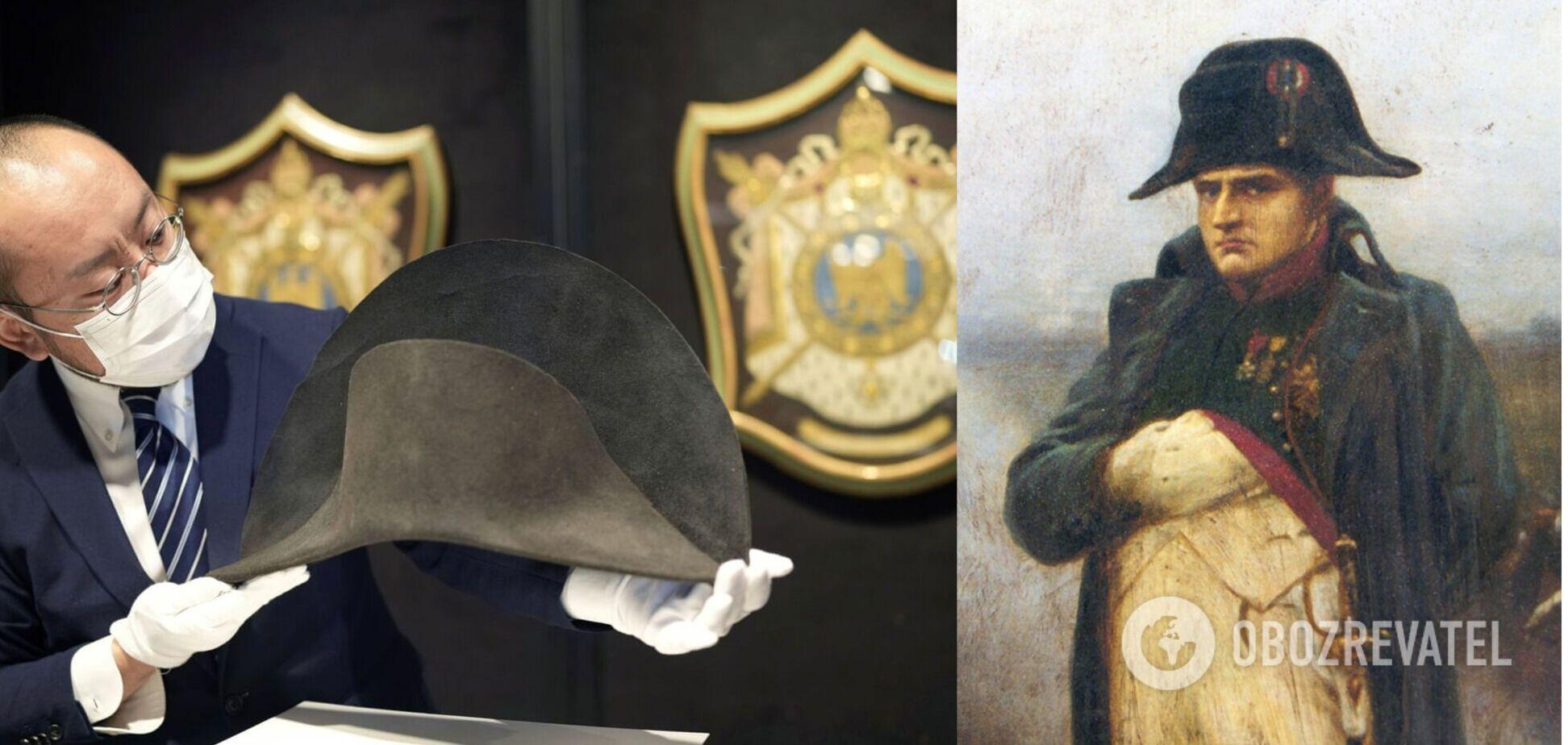 У Лондоні продадуть з аукціону капелюх Наполеона з ДНК імператора. Фото