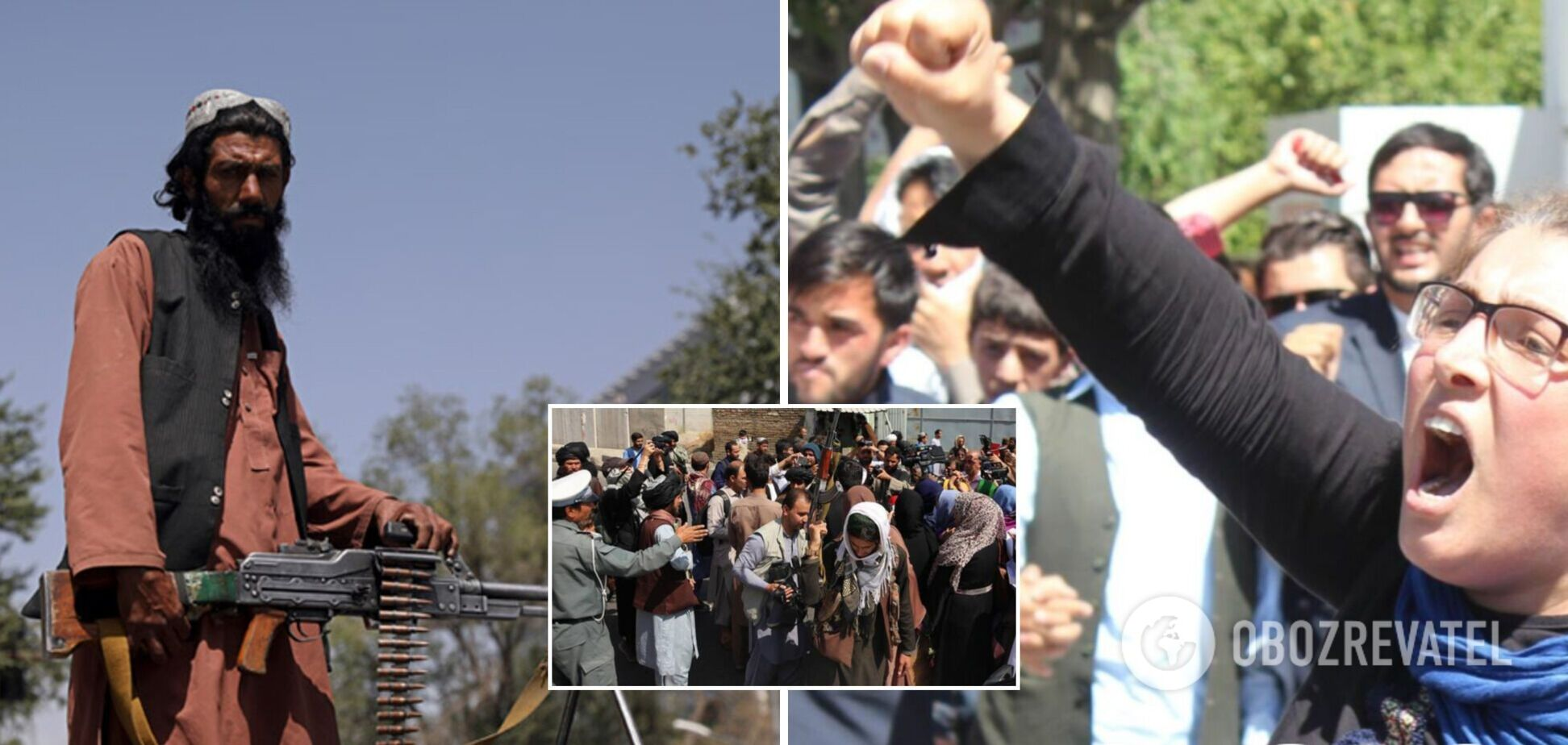 В Кабуле разогнали акцию протеста, произошла стрельба: много пострадавших. Видео