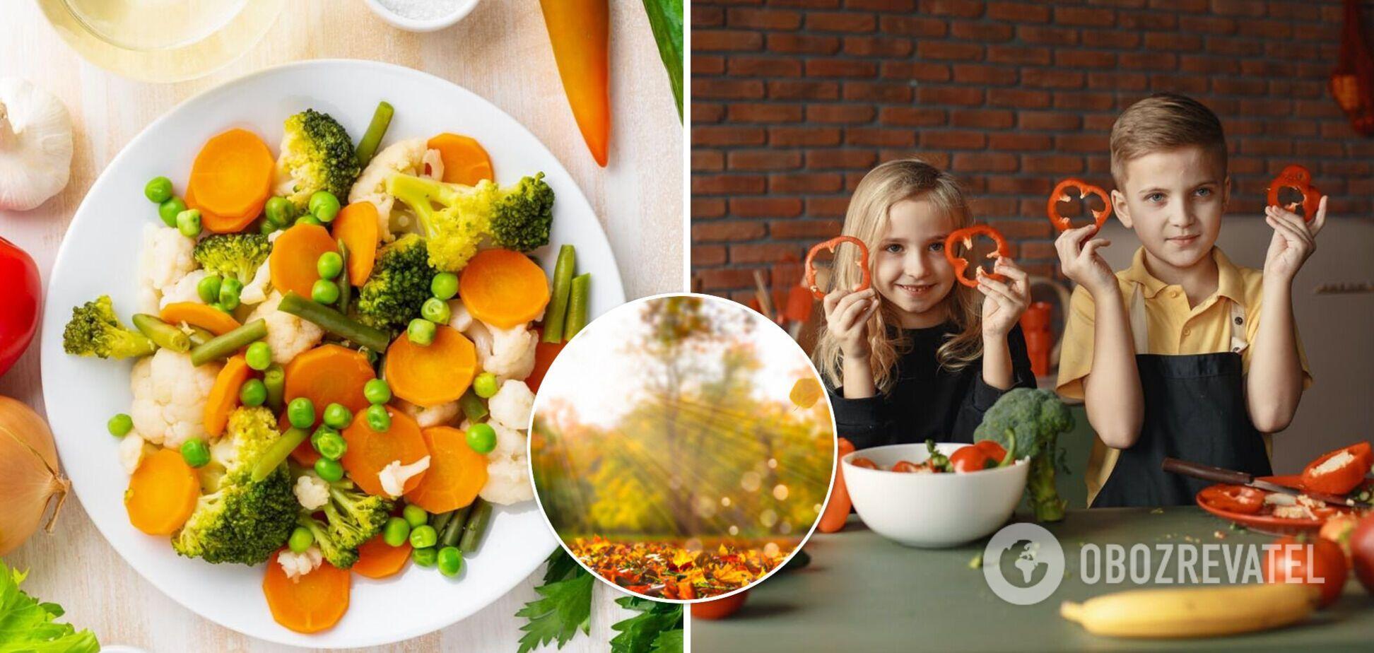 С наступлением осени набирает актуальности правильное питание