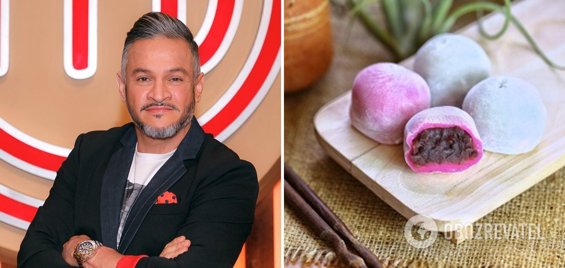 Моті – новий трендовий японський десерт: секрети приготування від Ектора Хіменеса-Браво