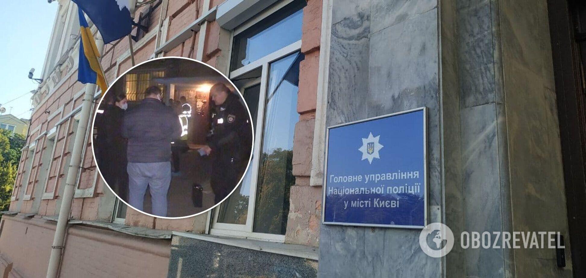 Інцидент стався в Дніпровському районі столиці