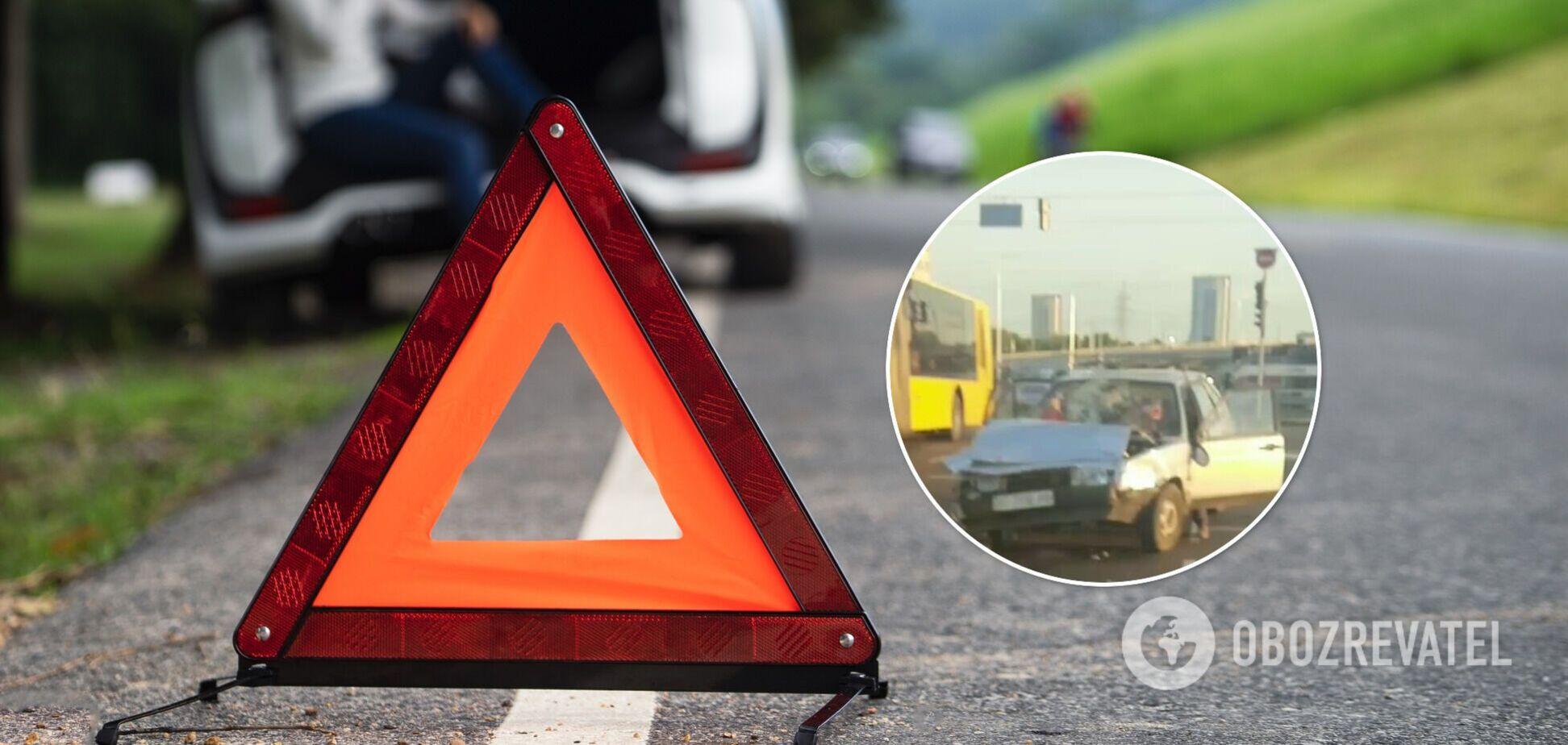 Травми отримали пасажири одного з автомобілів
