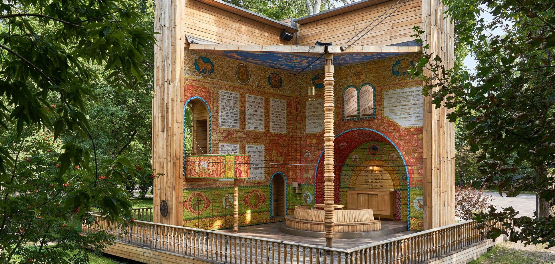 Символическая синагога 'Место для размышлений' вошла в шорт-лист престижной архитектурной премии