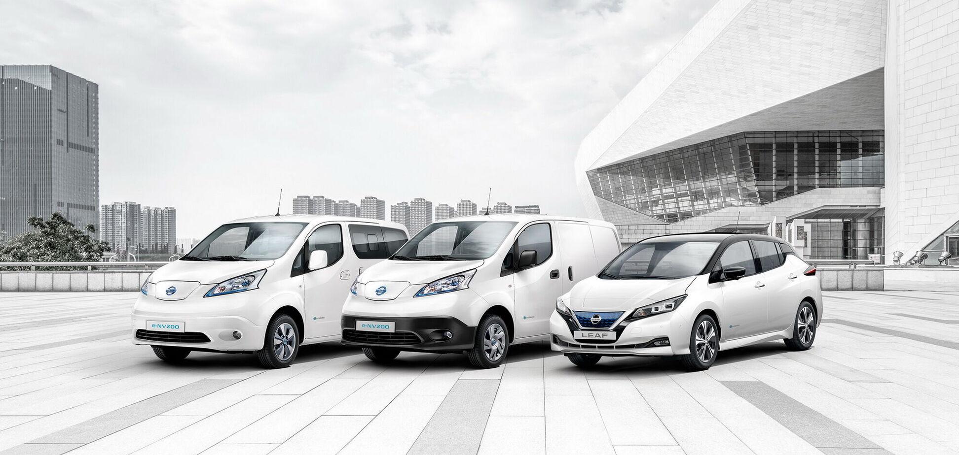 Nissan реалізував у Європі 250 000 електромобілів