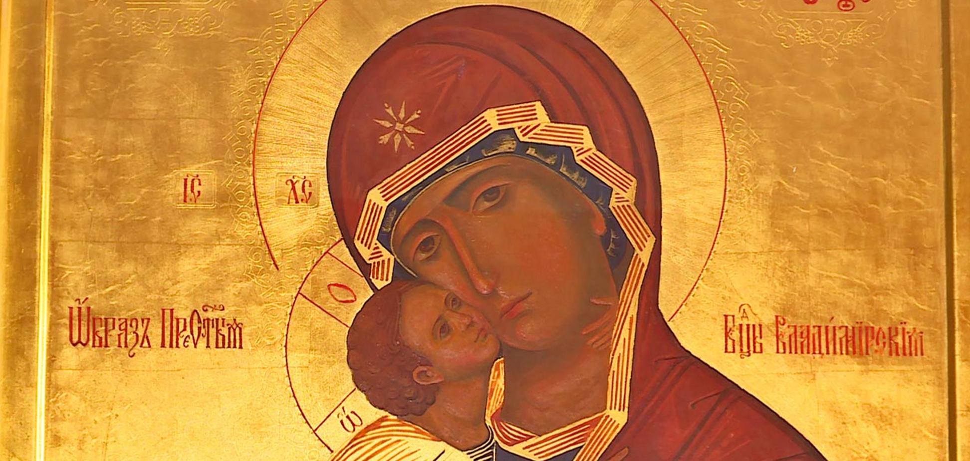 Сретение Владимирской (Вышгородской) иконы Божьей матери