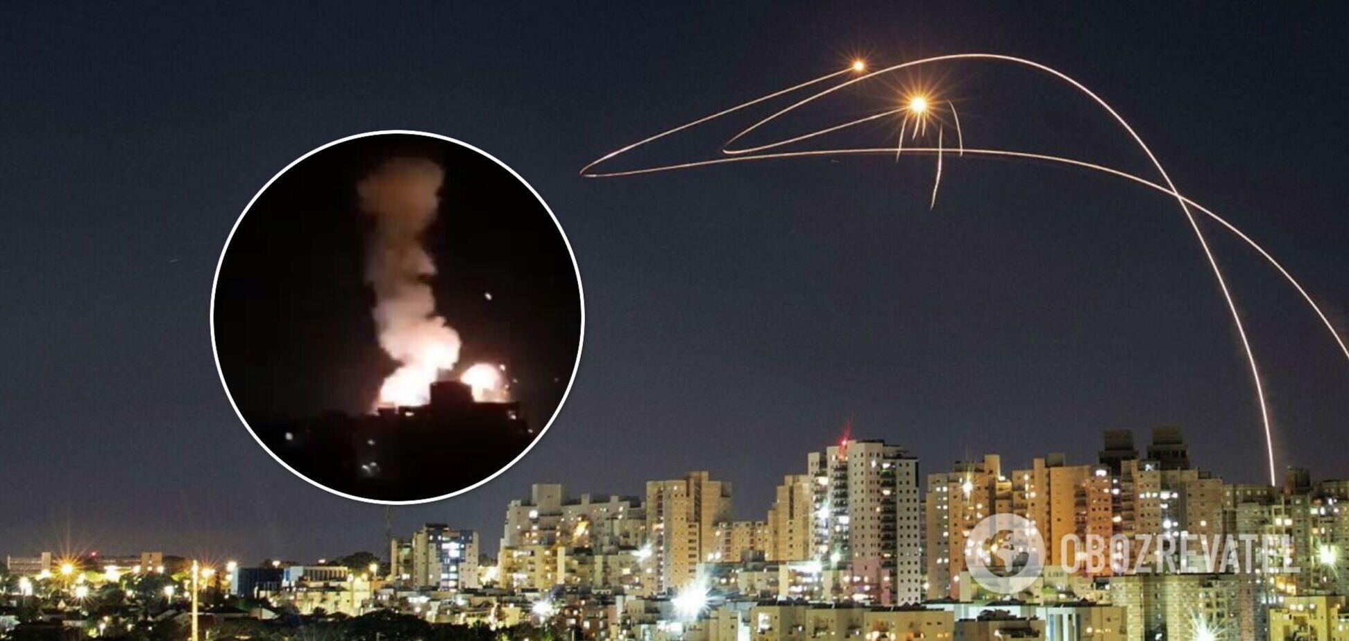 Ізраїль ударив по ХАМАСу