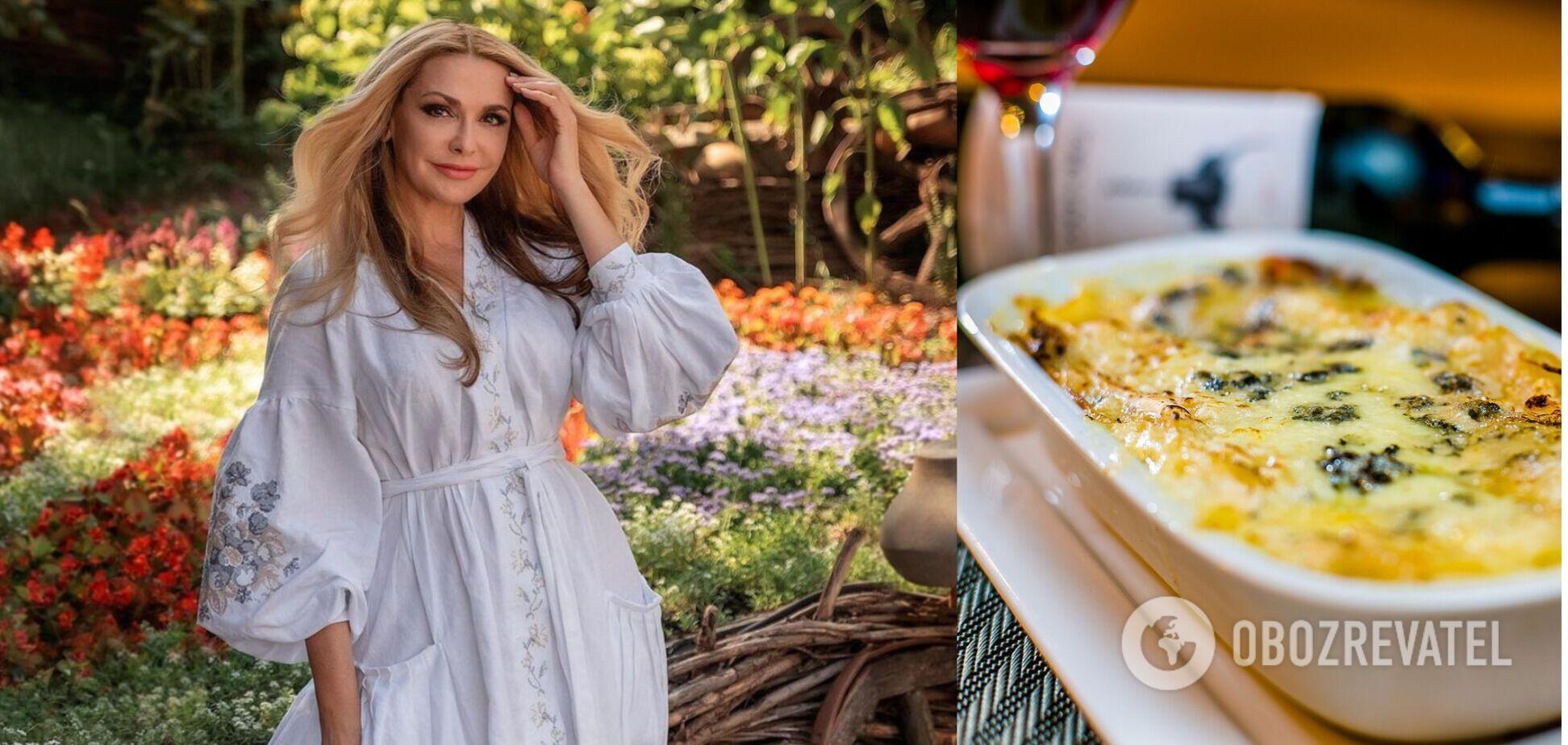 Ольга Сумская поделилась рецептом лазаньи