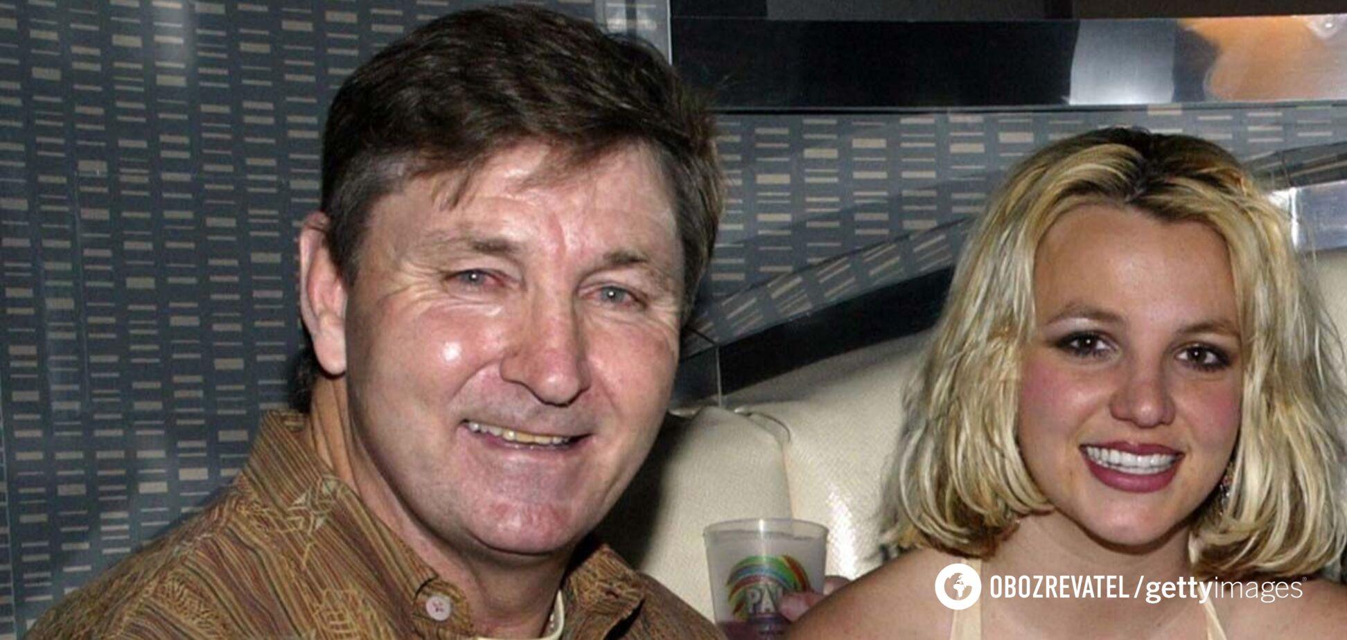 Батько Брітні Спірс відмовився від опіки над донькою