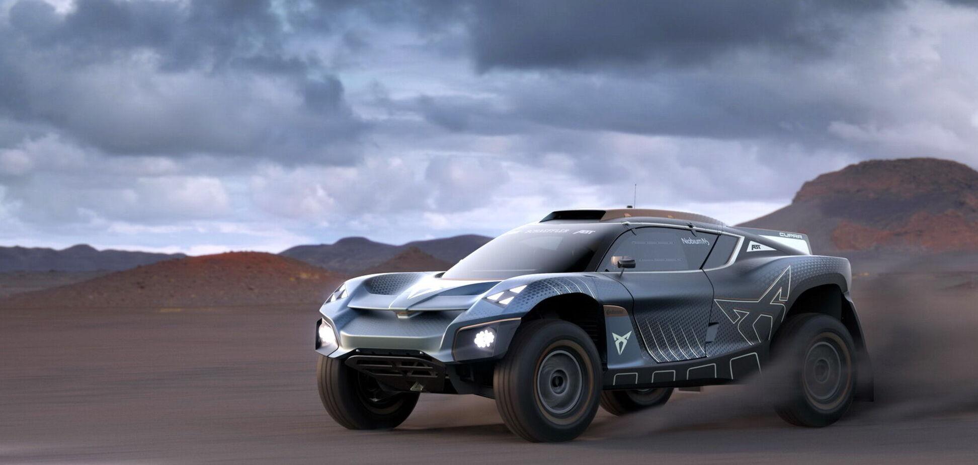 Cupra створила позашляховик для чемпіонату Extreme E