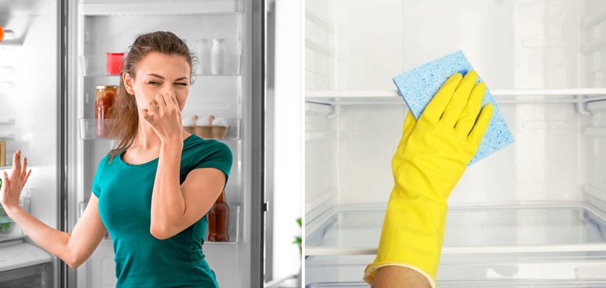 Як прибрати запах у холодильнику