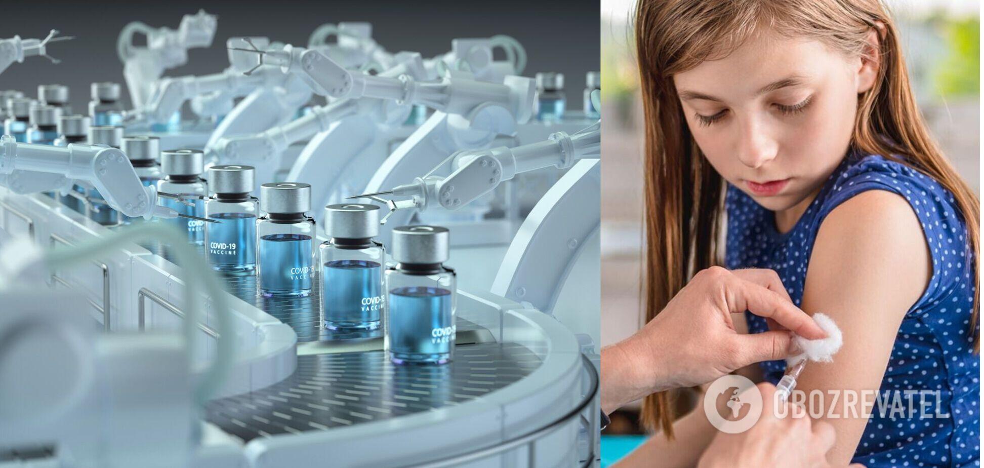 Бережнов пояснил, почему в Украине массово не вакцинируют детей