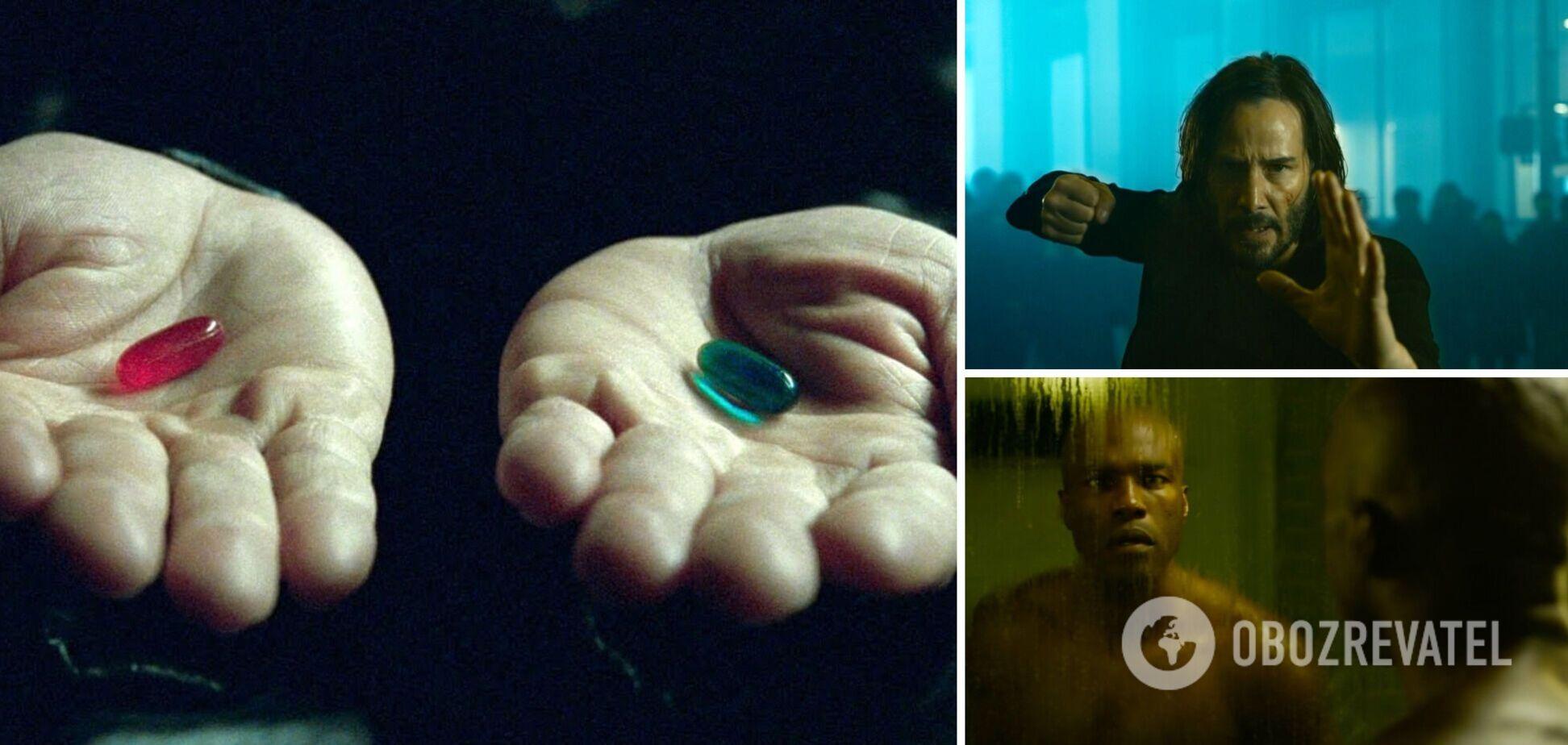 Творці 'Матриці 4' показали перший тизер: щоб побачити, потрібно вибрати таблетку. Відео
