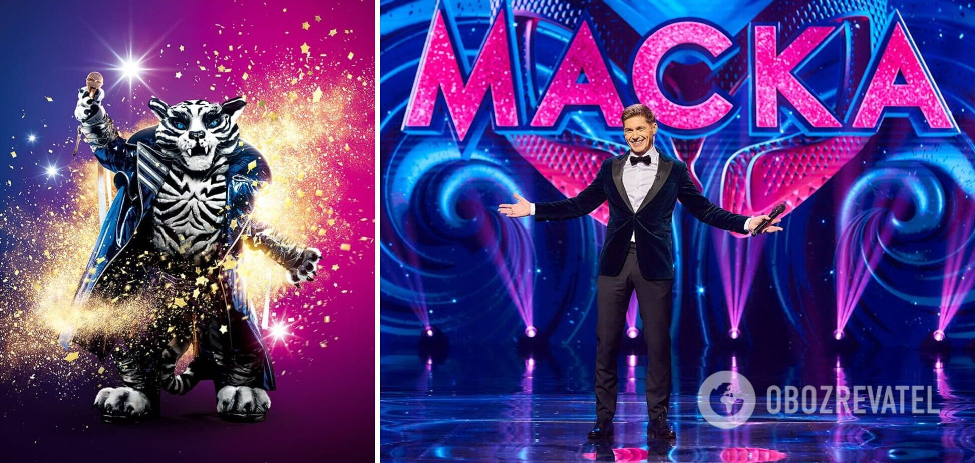 Два метри заввишки і три шари одягу: чим унікальний новий персонаж на шоу 'Маска' Тигр