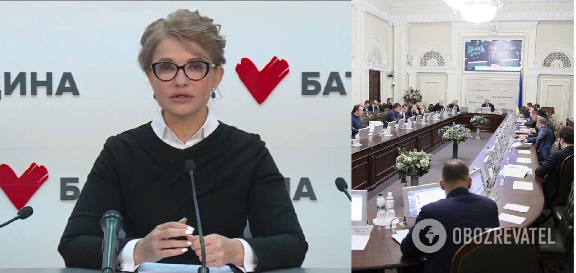 Тимошенко единственная среди политиков предупреждает об угрозах энергетического кризиса