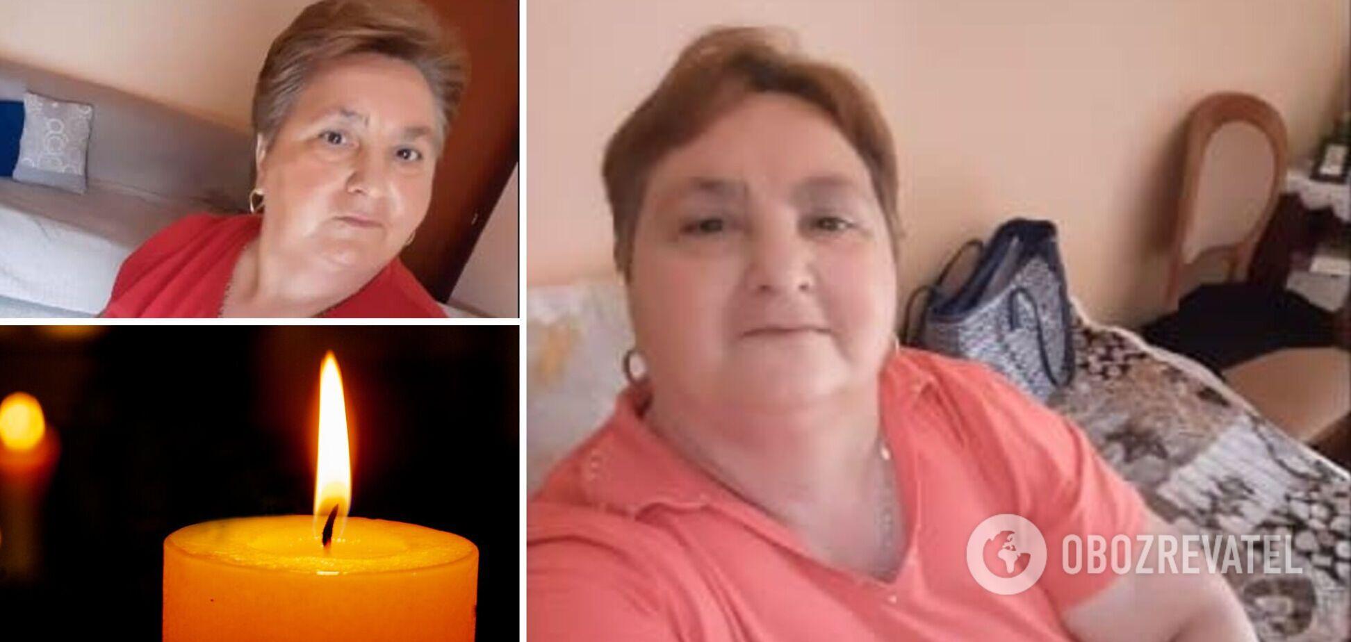 В Италии умерла украинка Анна Бурак