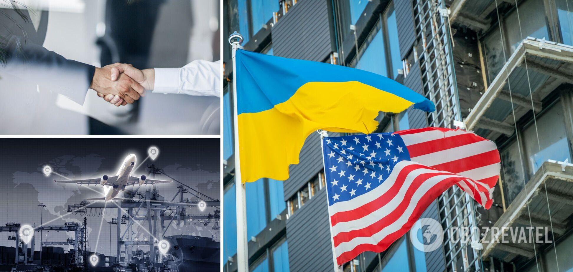 Зона вільної торгівлі з США дуже вигідна для України