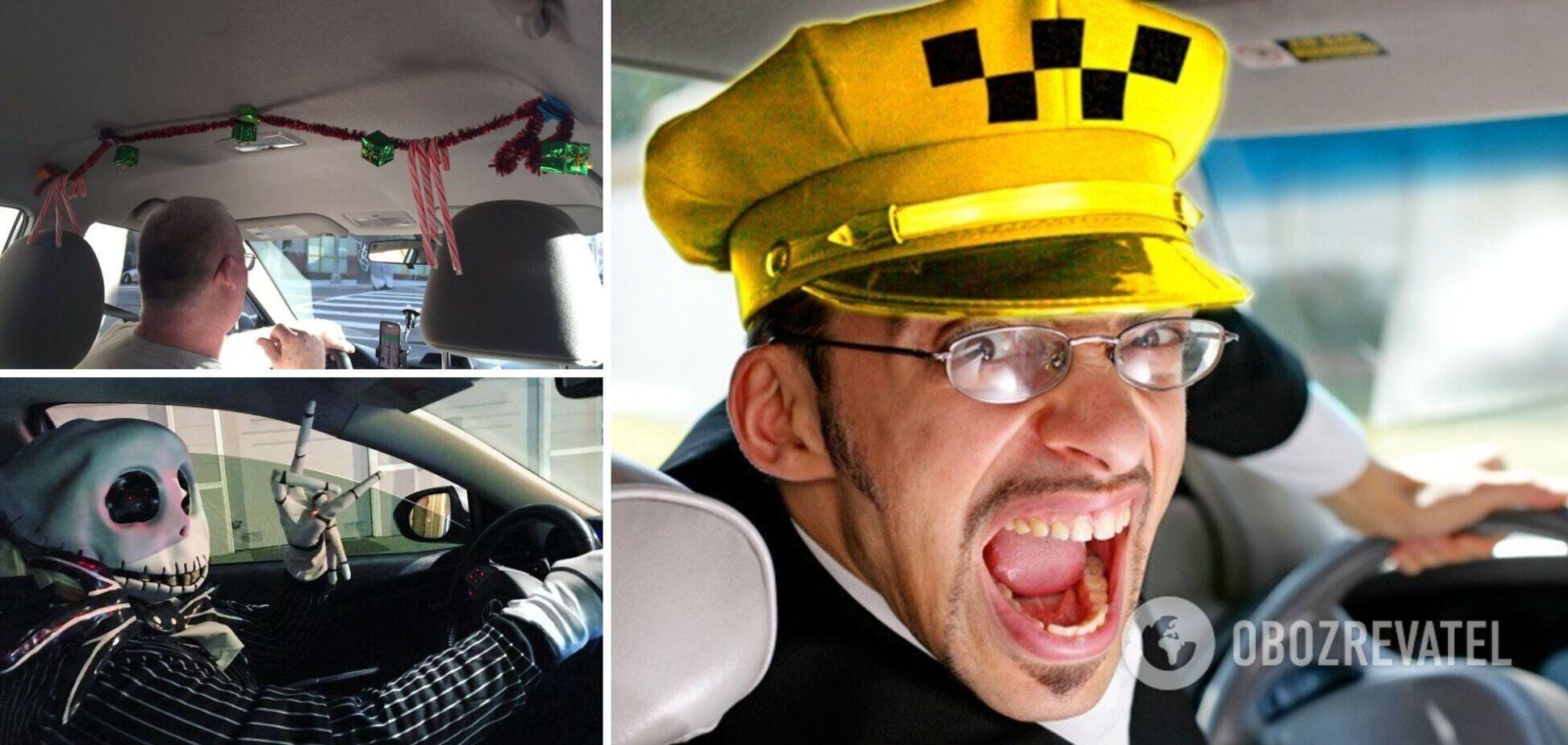 Таксисти прикрашають автомобілі на свята
