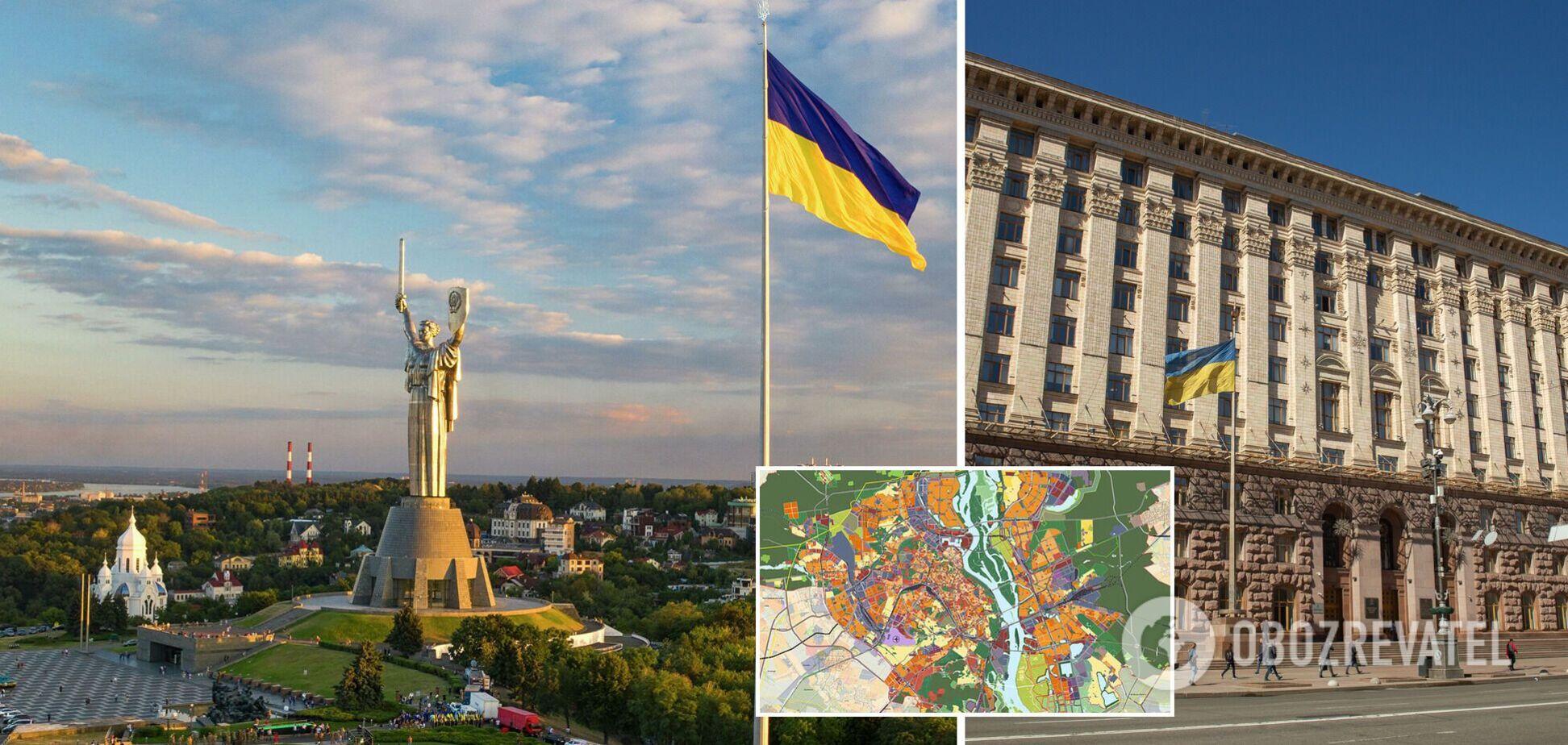 Проєкт Генплану Києва перебуває на фінальному етапі доопрацювання – КМДА