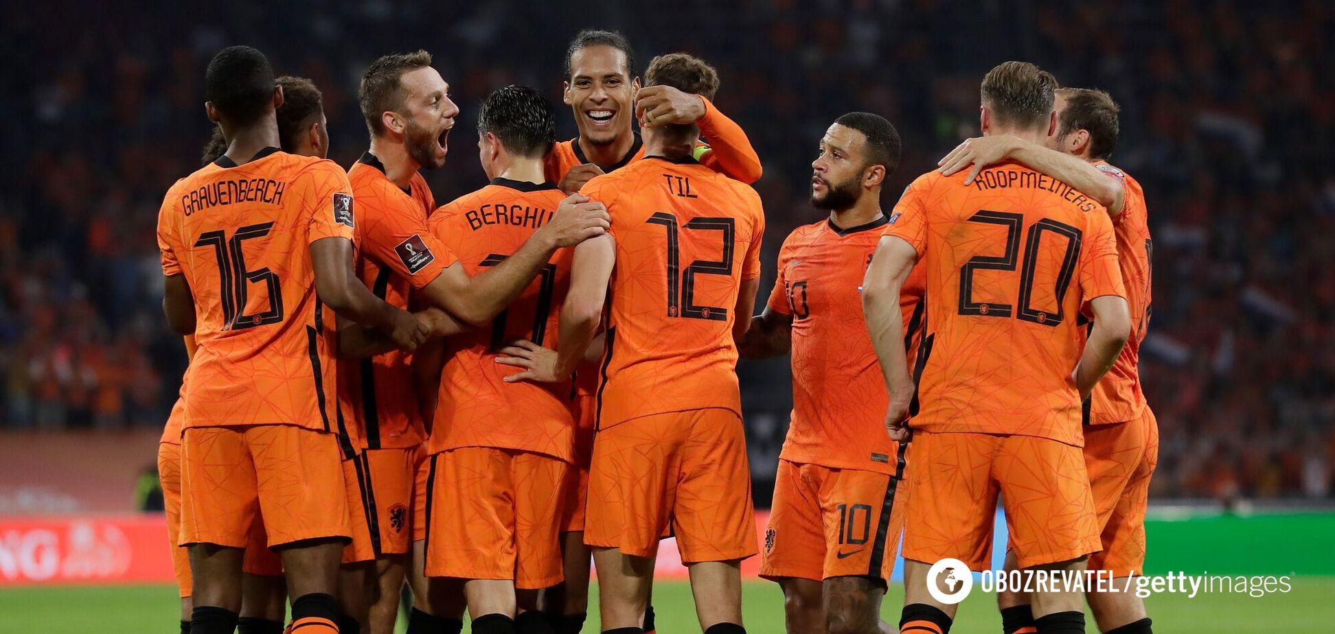 Нідерланди Туреччина результат огляд матчу 07 09 2021