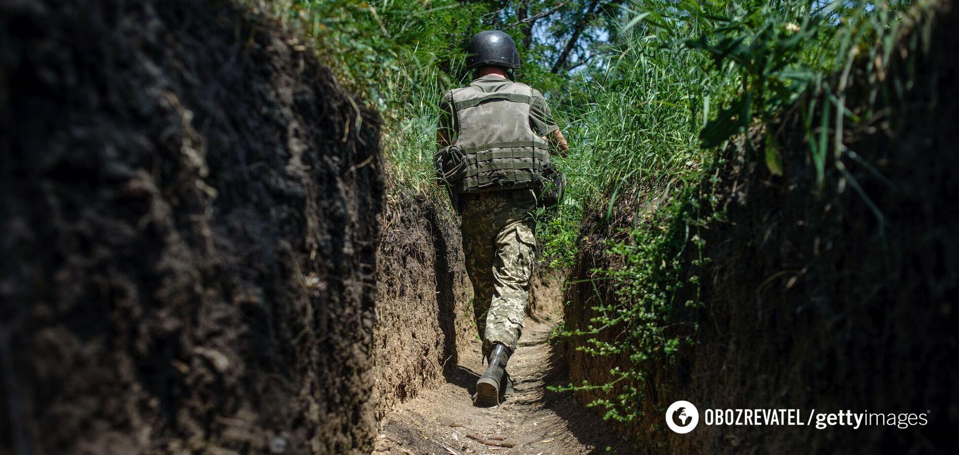 На Донбассе оккупанты ранили бойца ВСУ, украинские военные открыли огонь в ответ – штаб ООС