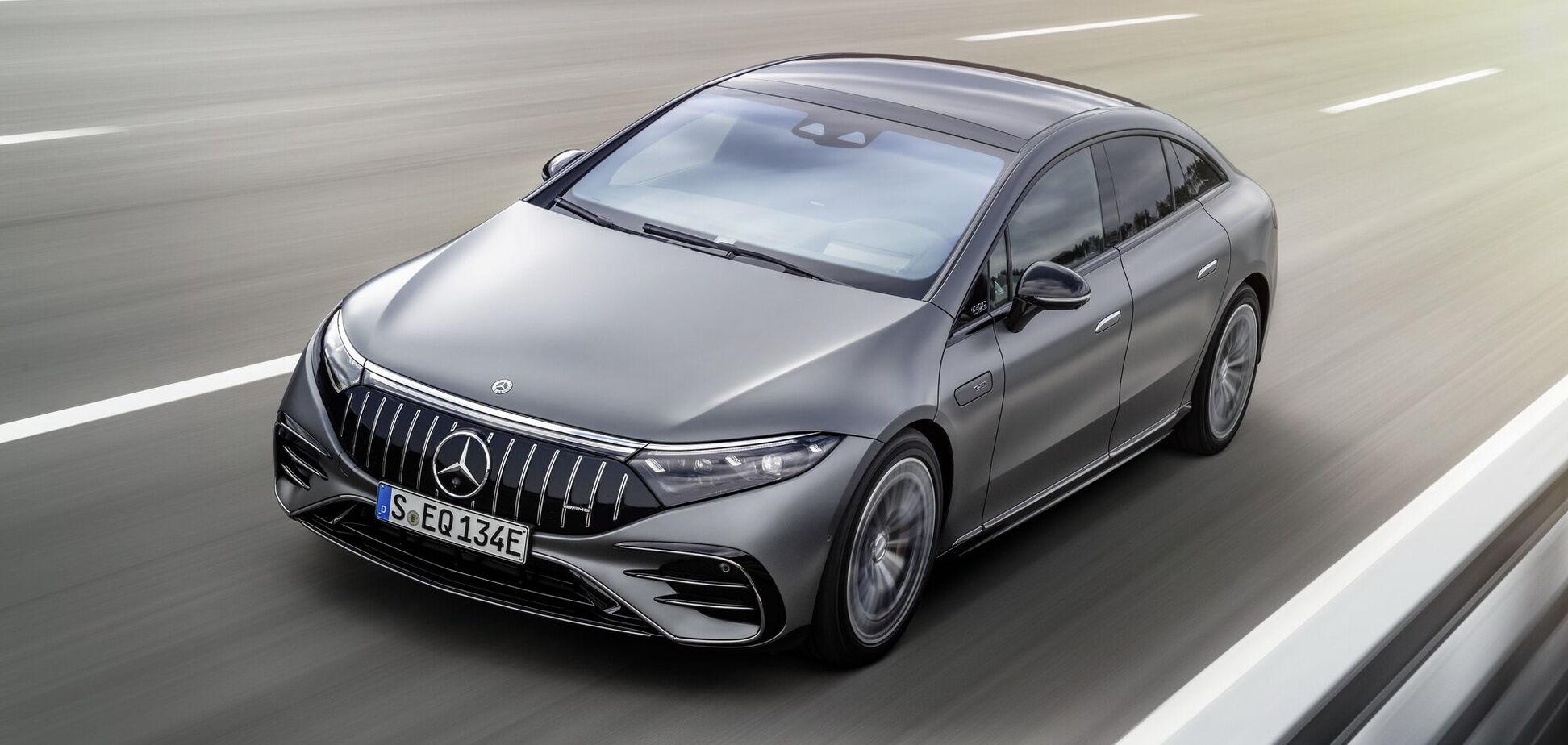Mercedes-AMG представив новий електромобіль