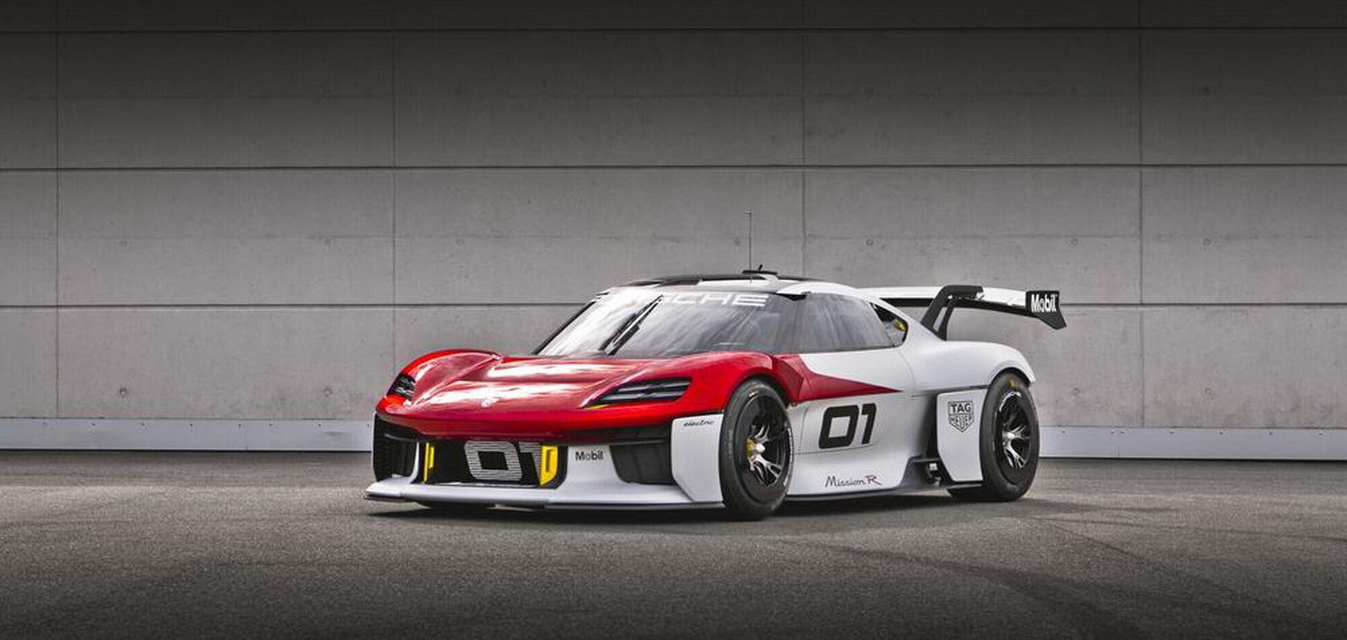 Porsche представив гоночний електрокар Mission R. Відео