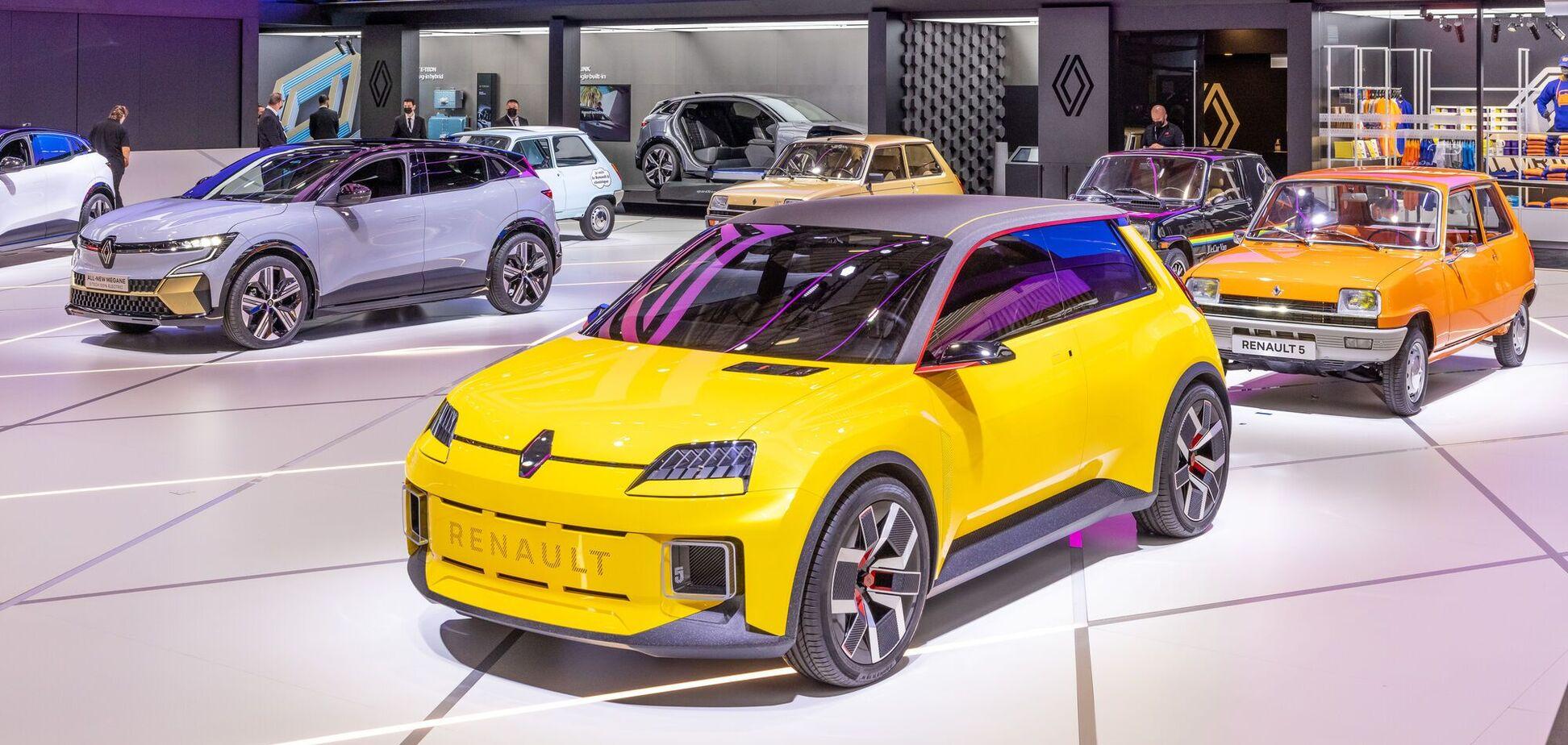 Електричний Renault 5 Prototype показали в Мюнхені