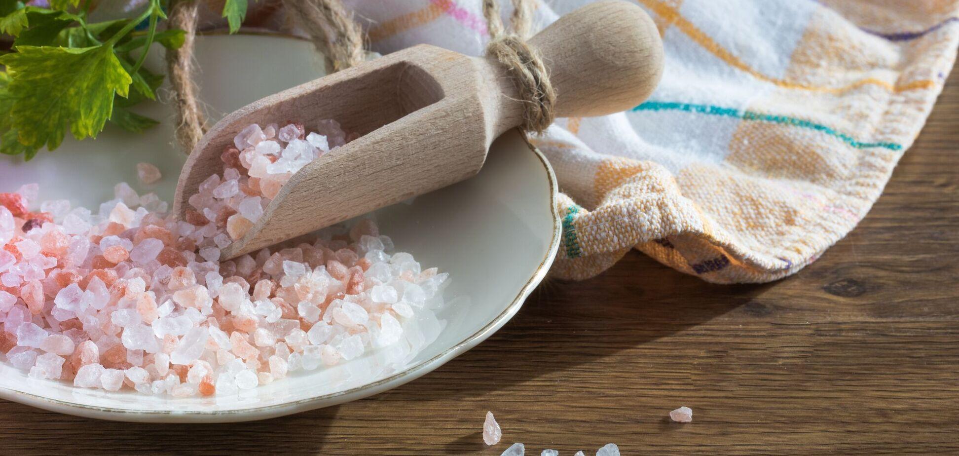 Соль - вред для здоровья