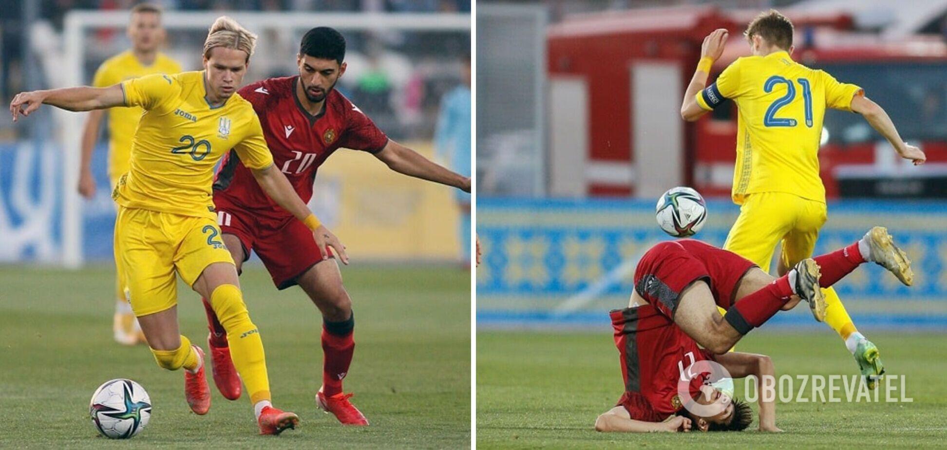 Украина Армения U21 результат матча 07 09 2021