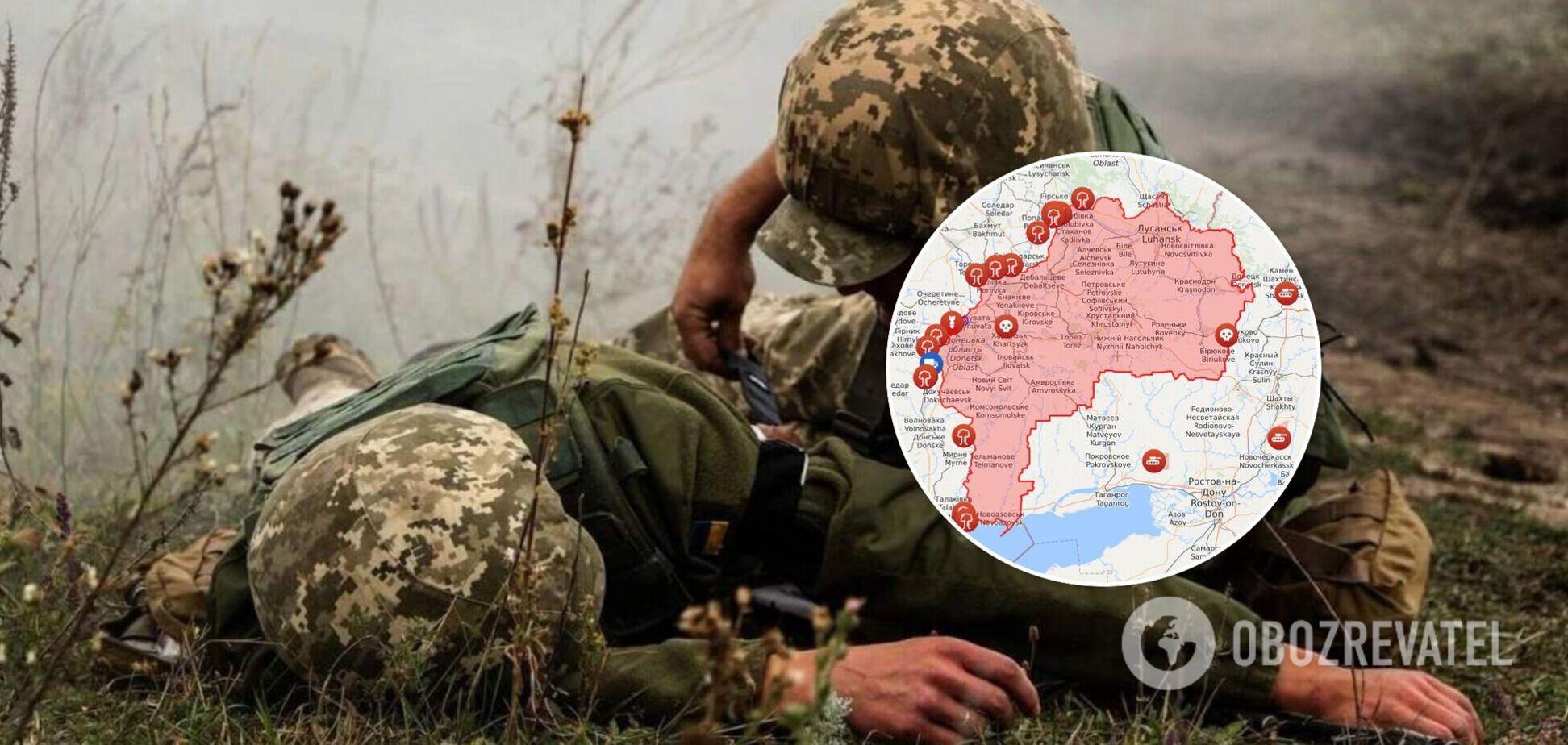 На Донбасі отримали поранення двоє українських військових: що відомо про їхній стан